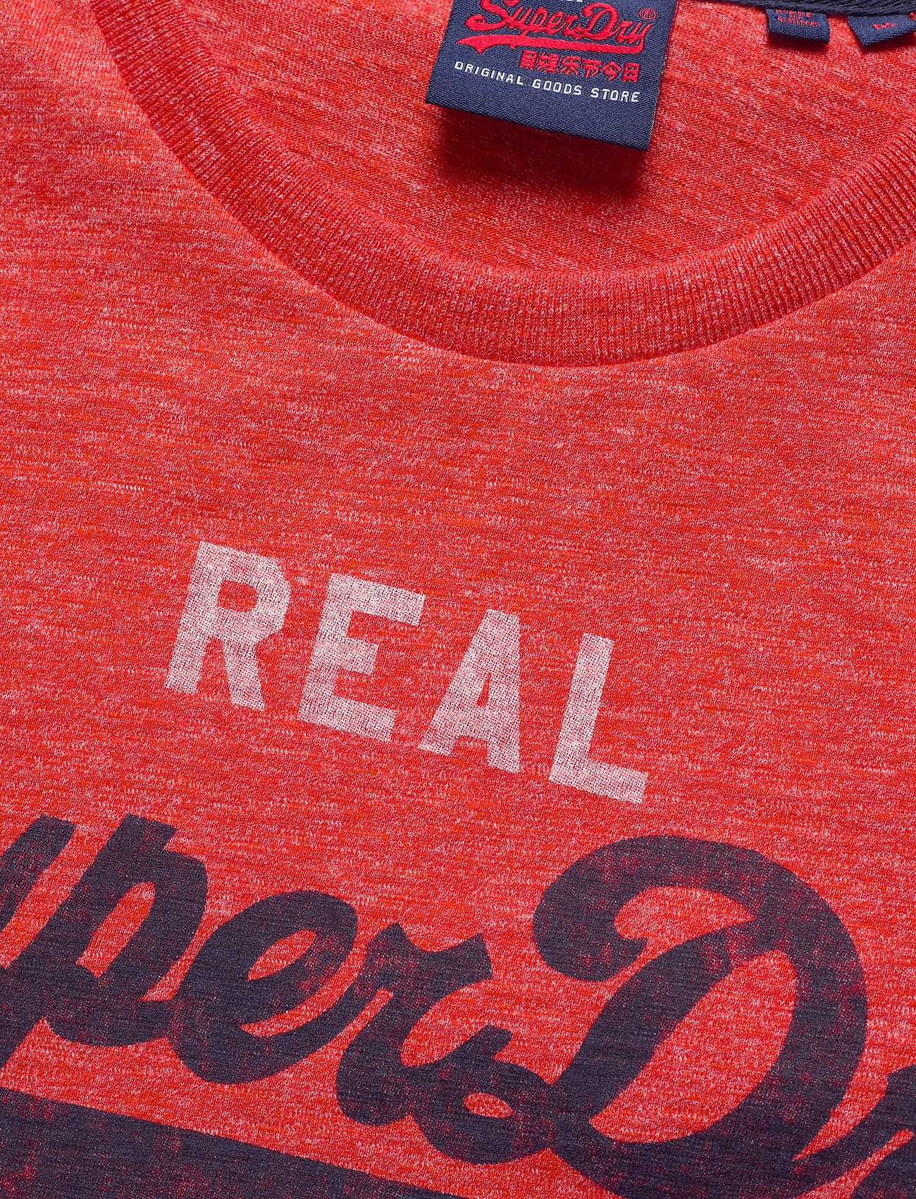 Superdry Vl Premium Goods Tee - T-skjorter GRENADINE GRINDLE - Menn Klær
