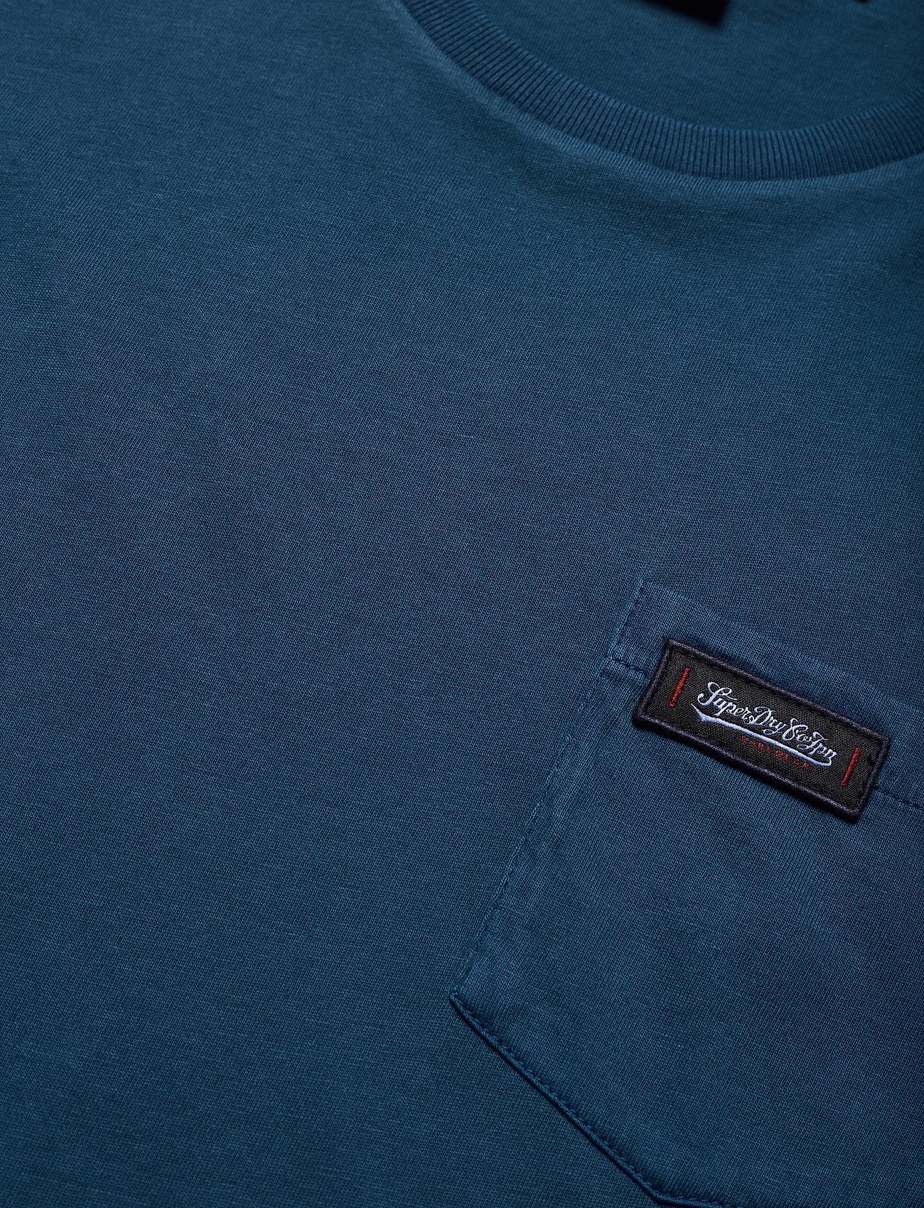 Superdry Dry Goods Pocket Tee - T-skjorter ENSIGN BLUE - Menn Klær