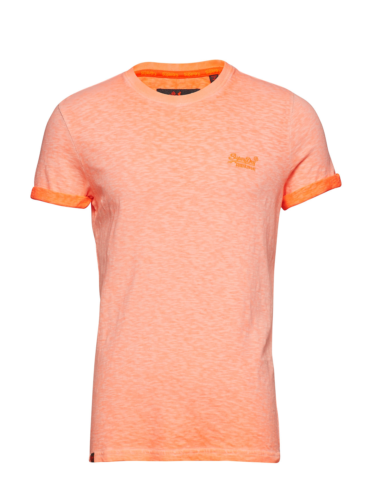Low Roller Tee T shirt Orange SUPERDRY