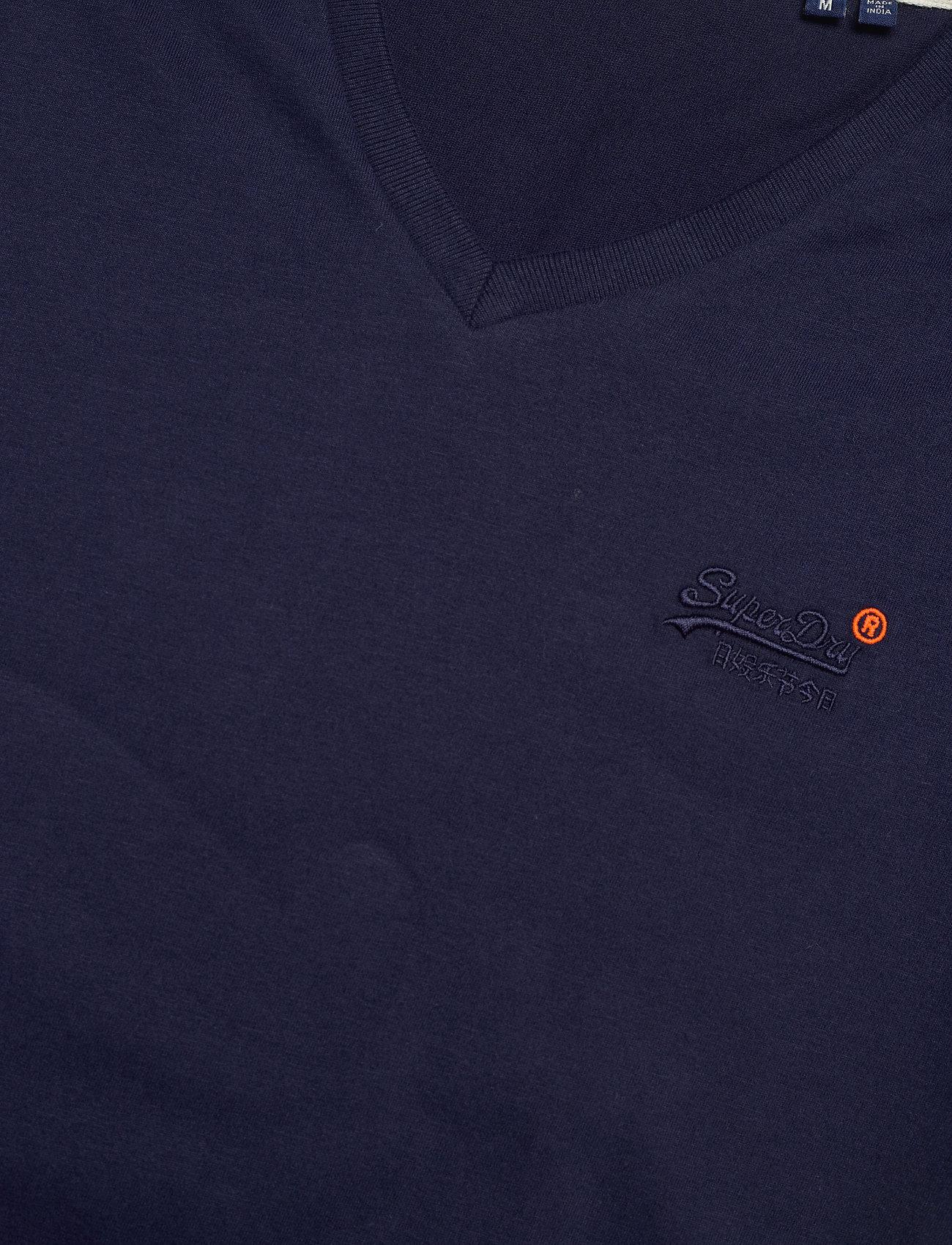 Superdry Ol Classic Vee Tee Ns - T-skjorter RICH NAVY - Menn Klær