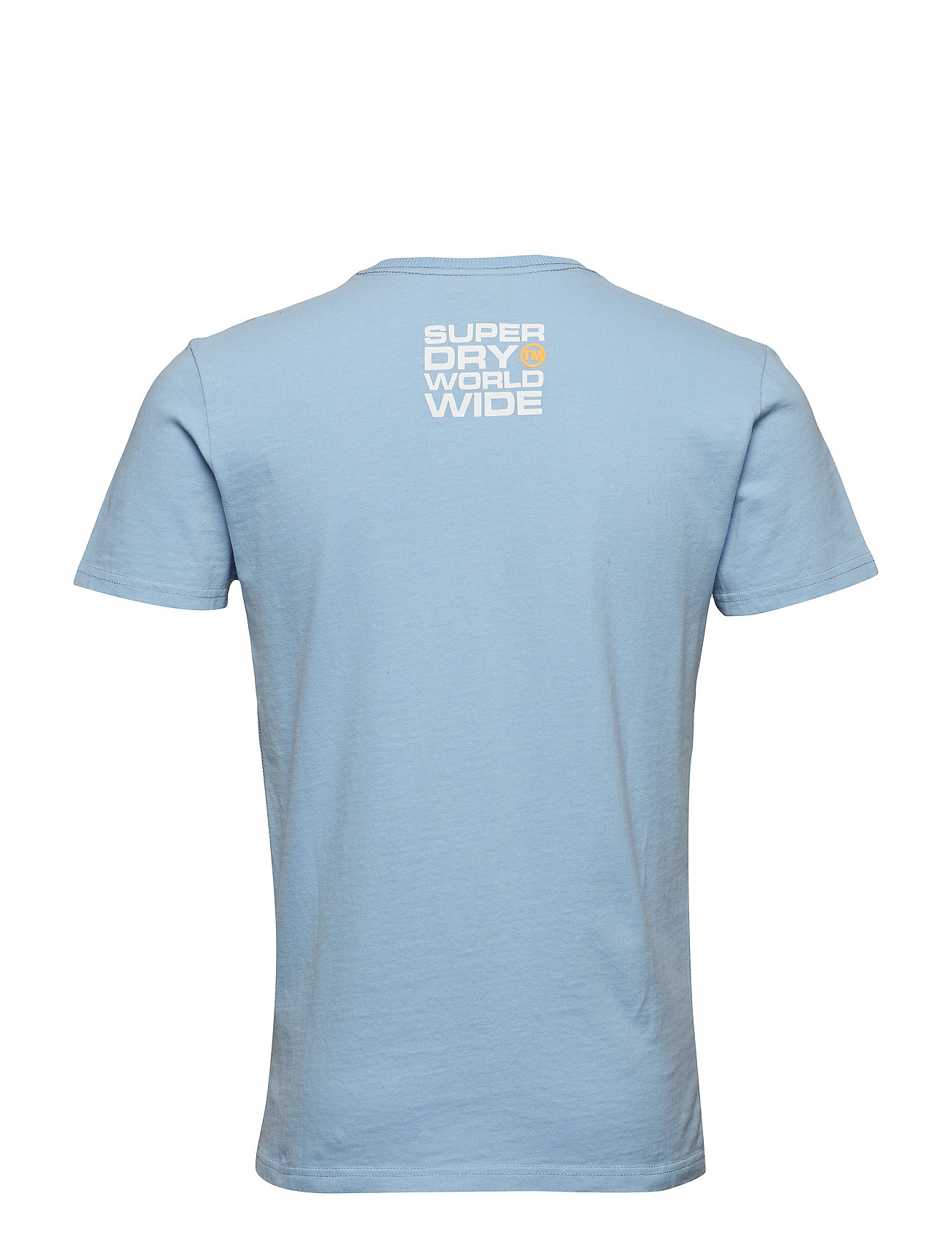 Ticket Type Pastel Tee T shirt Blå SUPERDRY