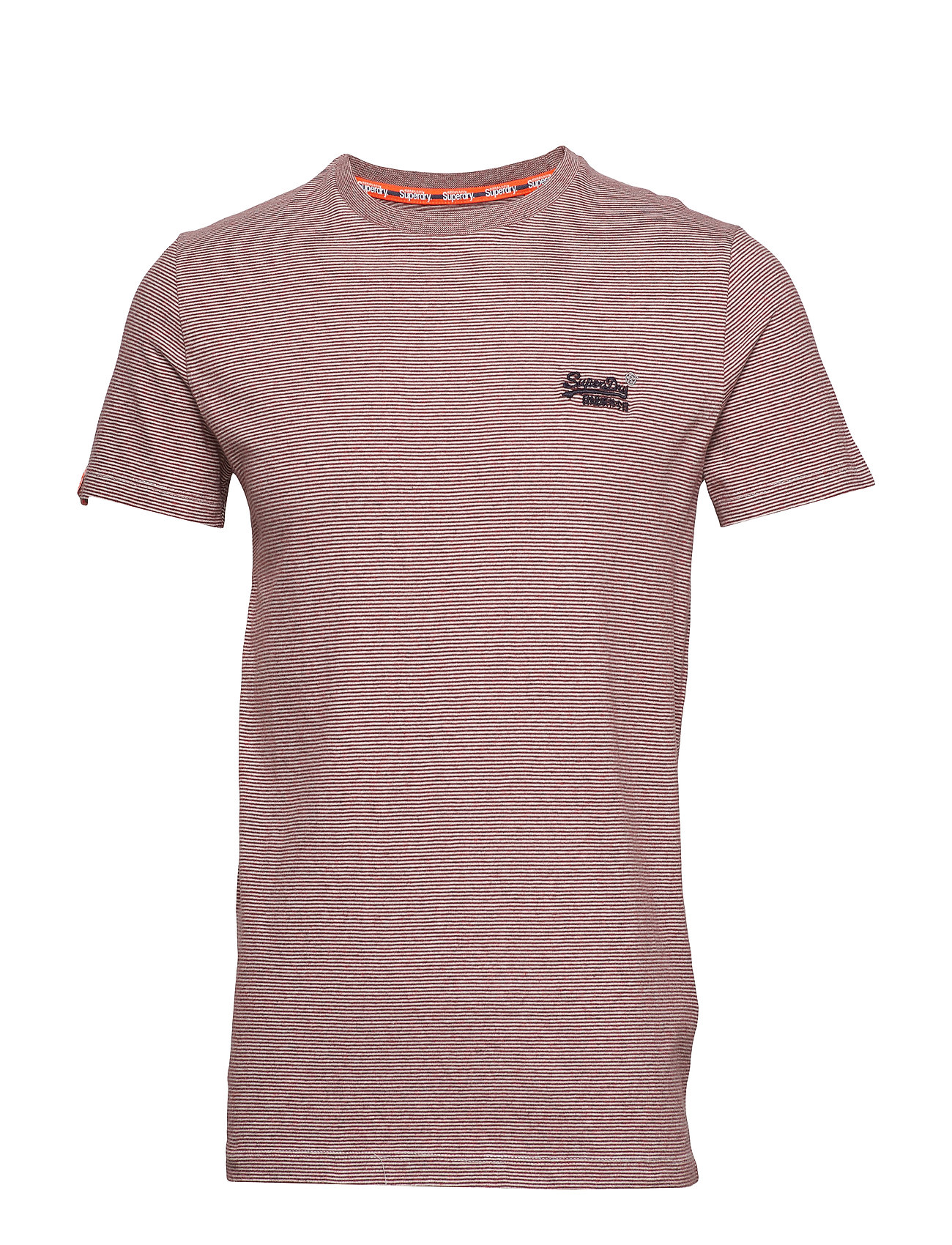 Orange Label Vintage Embroidery Tee T shirt Lyserød Superdry