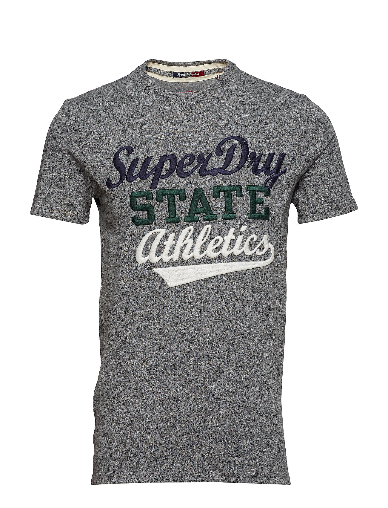 Superdry CORE APPLIQUE S S TEE Ögrönlar