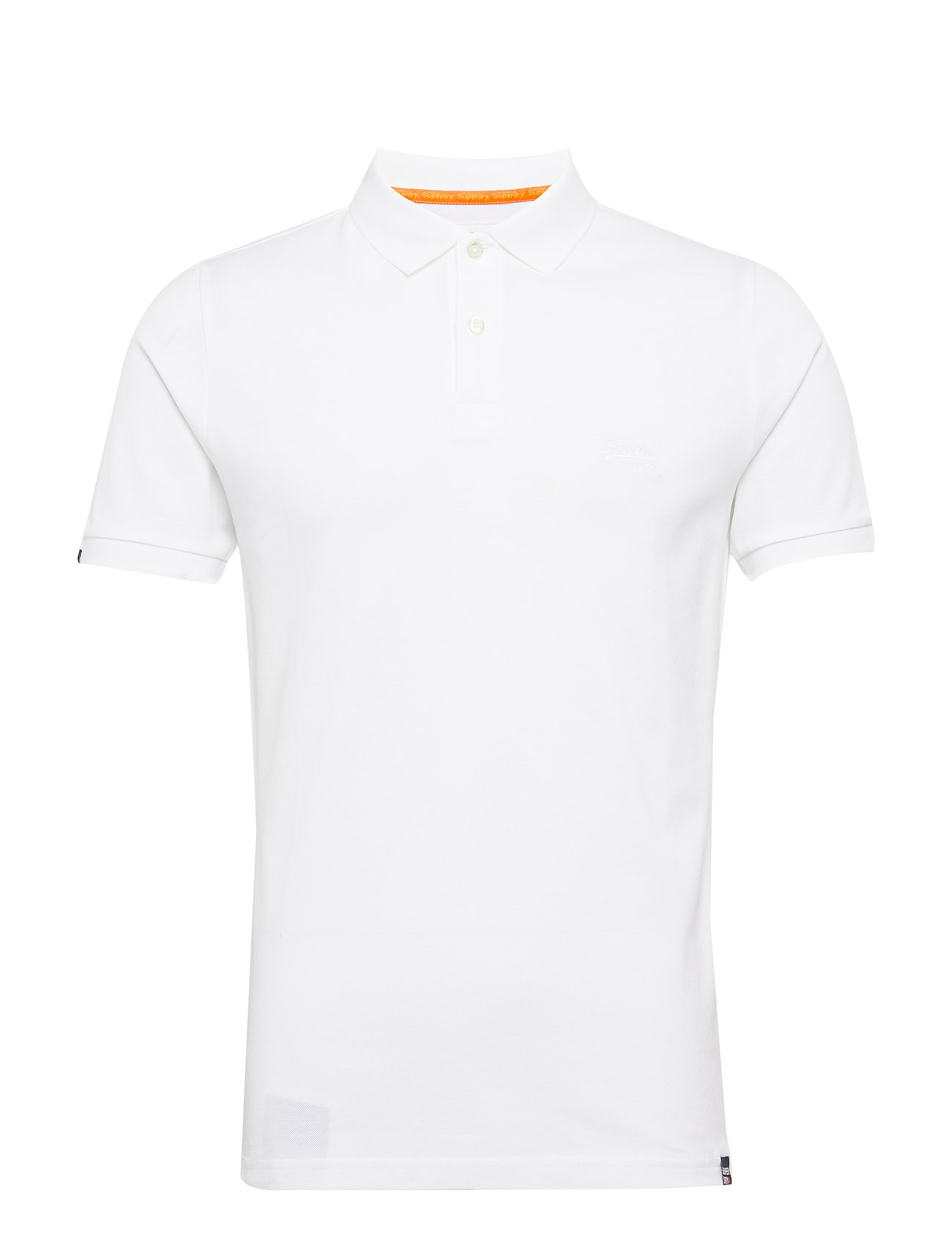 Superdry CLASSIC LITE MICRO PIQUE POLO - OPTIC