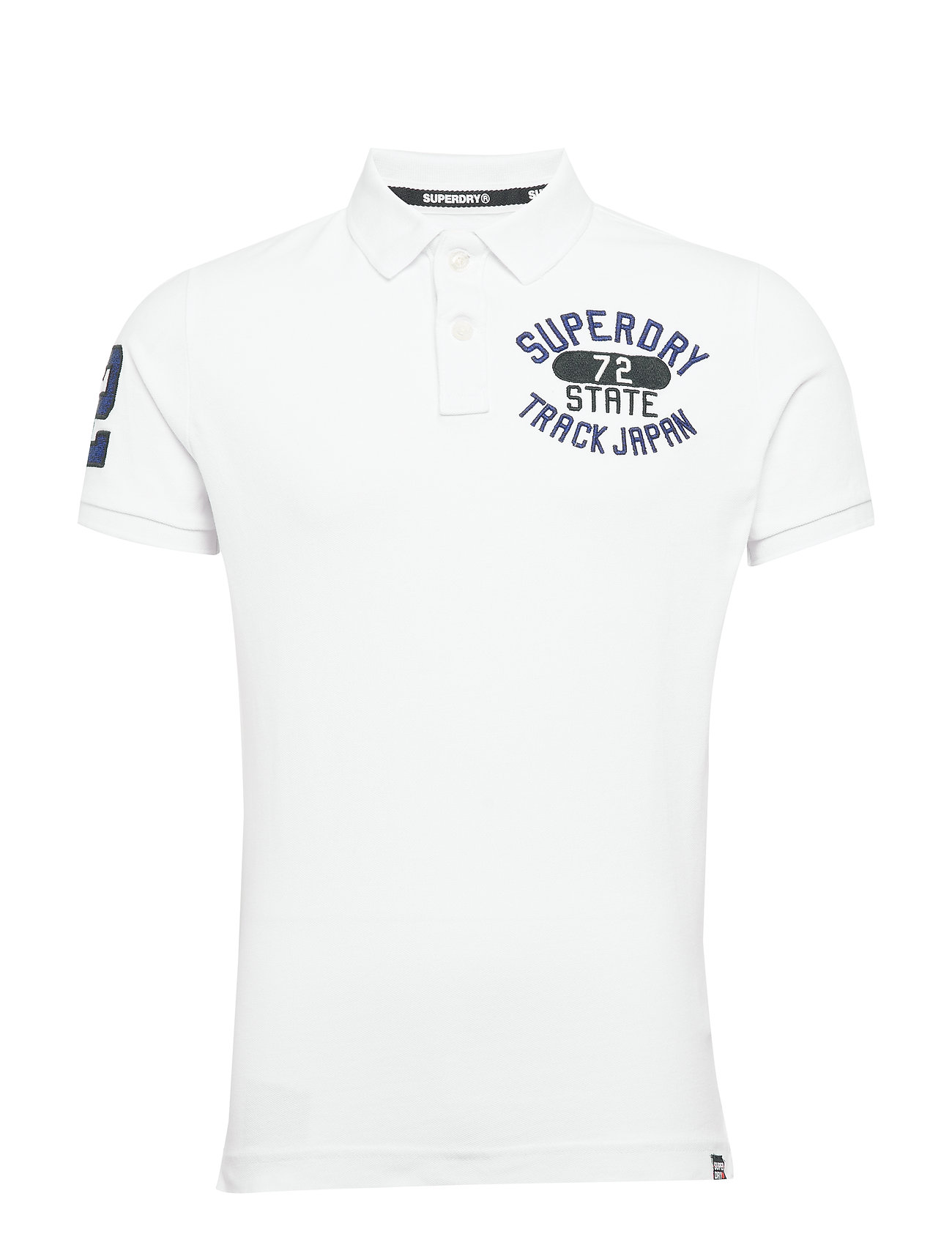 Superdry CLASSIC SUPERSTATE S/S POLO - OPTIC