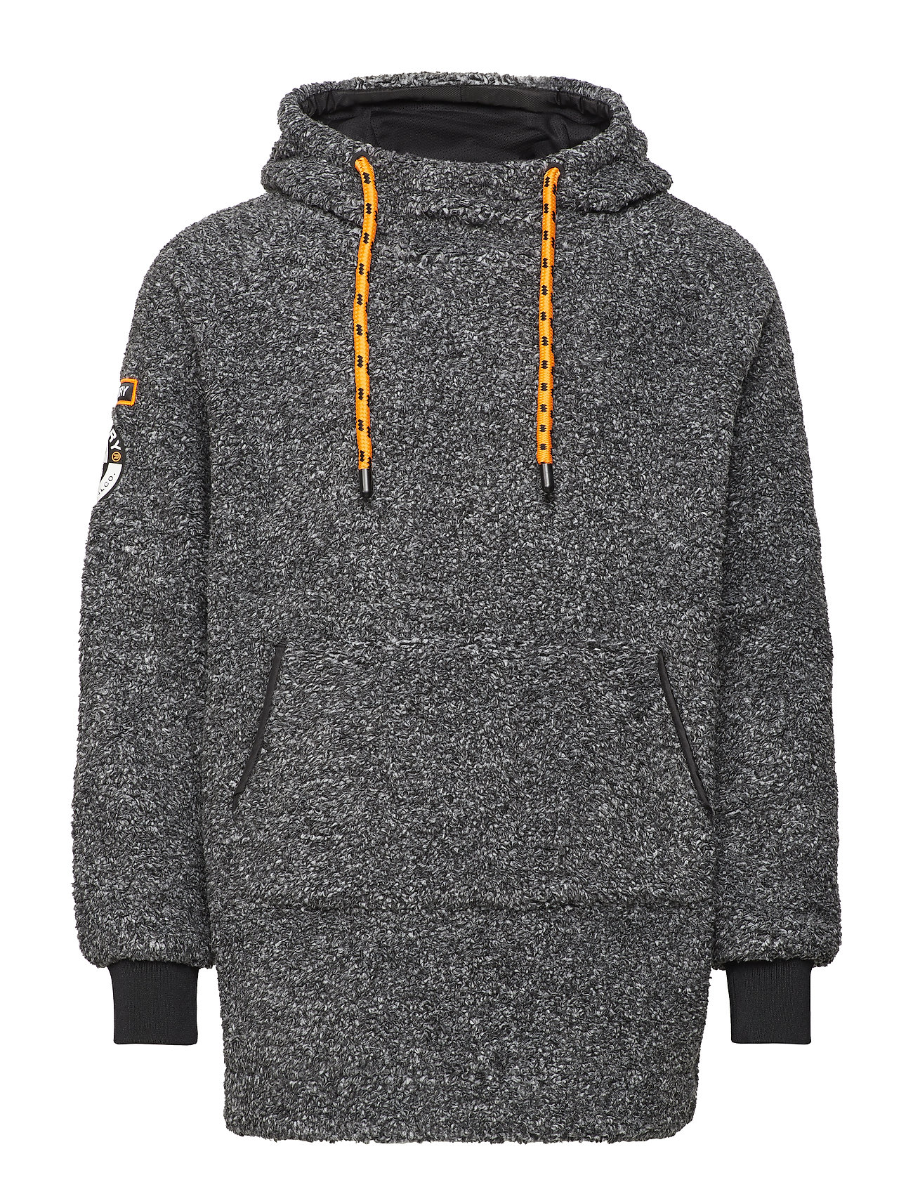 Superdry MOUNTAIN SHERPA OVERHEAD - MID GREY MARL