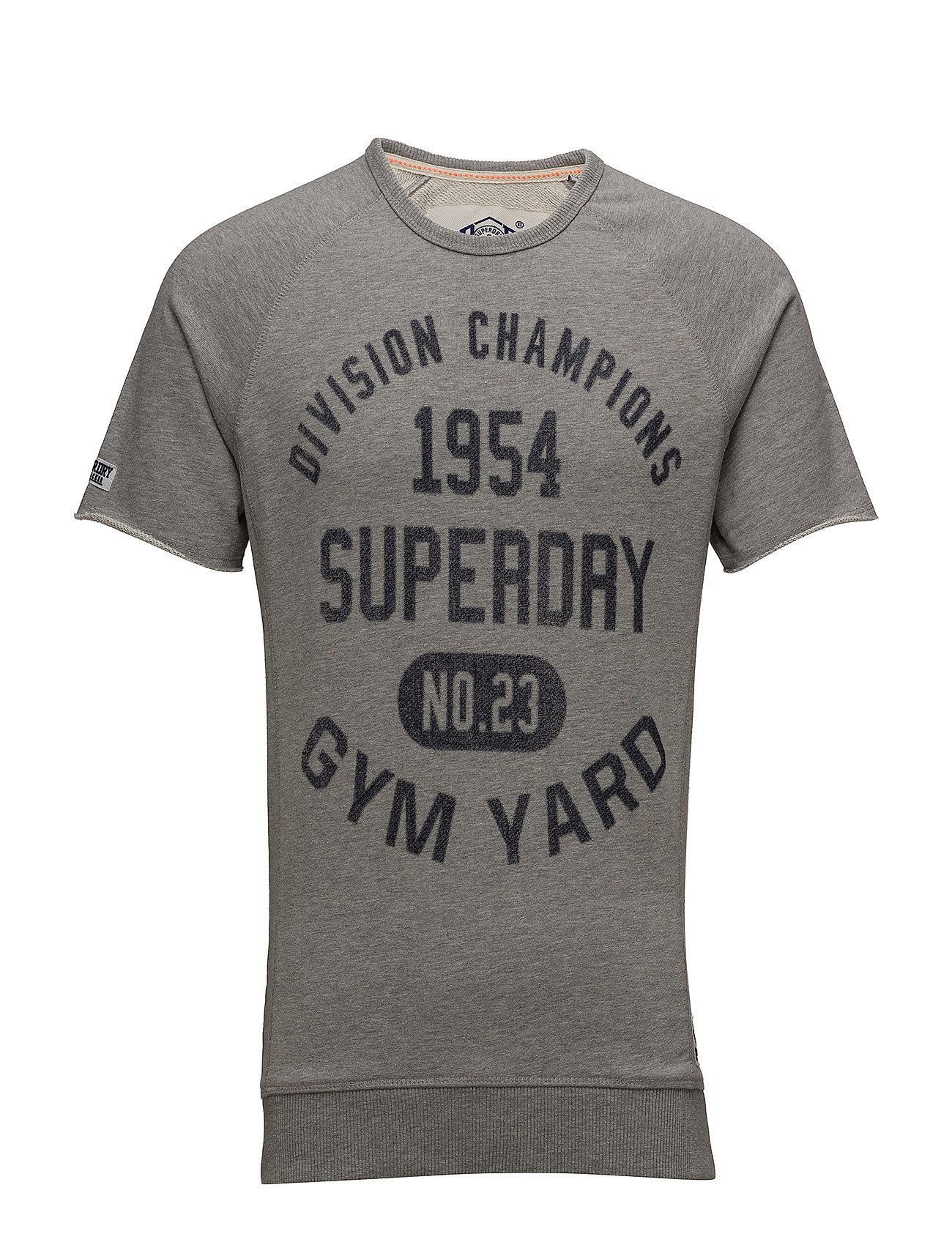 Gym Locker S Crewgym s MarlSuperdry Sports Grey 0Ok8wnP