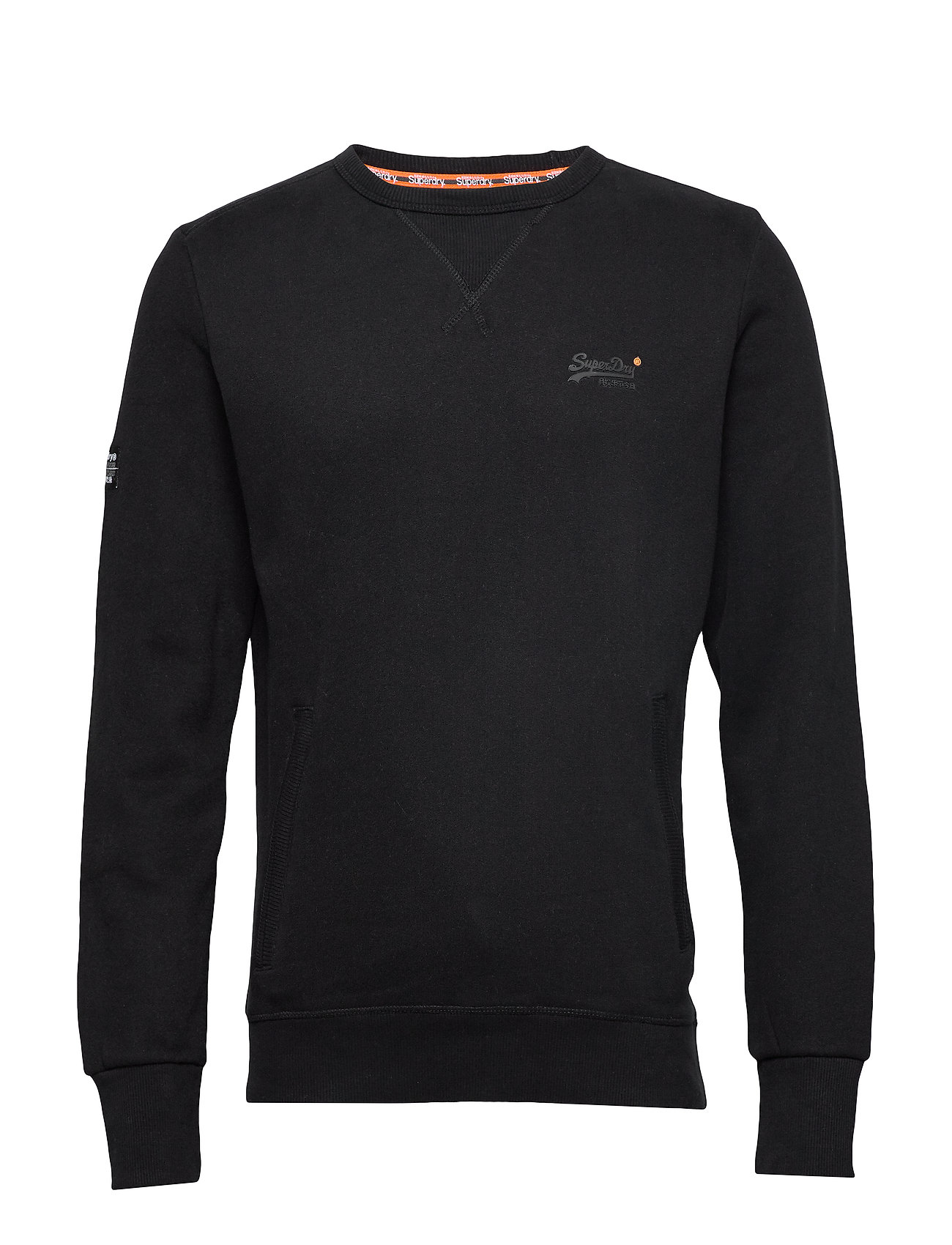 Superdry ORANGE LABEL URBAN CREW - BLACK