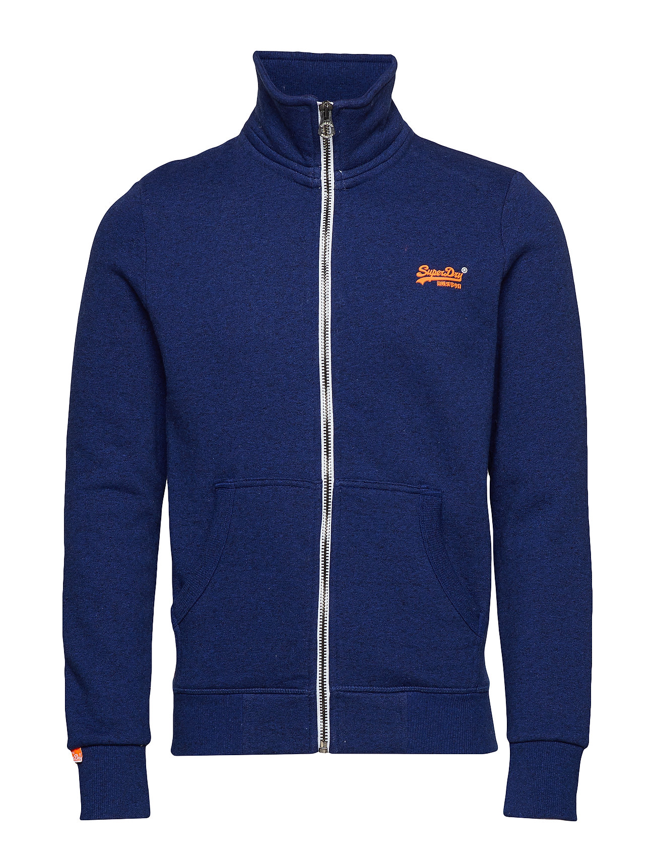 Superdry ORANGE LABEL TRACK TOP - SONIC BLAST BLUE
