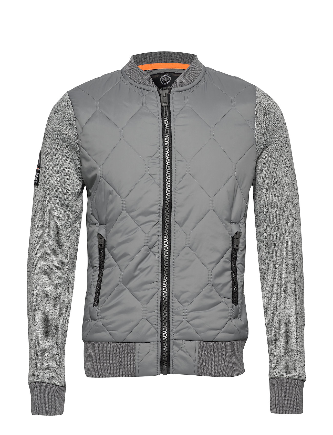 Superdry STORM MOUNTAIN BOMBER - GREY GRIT