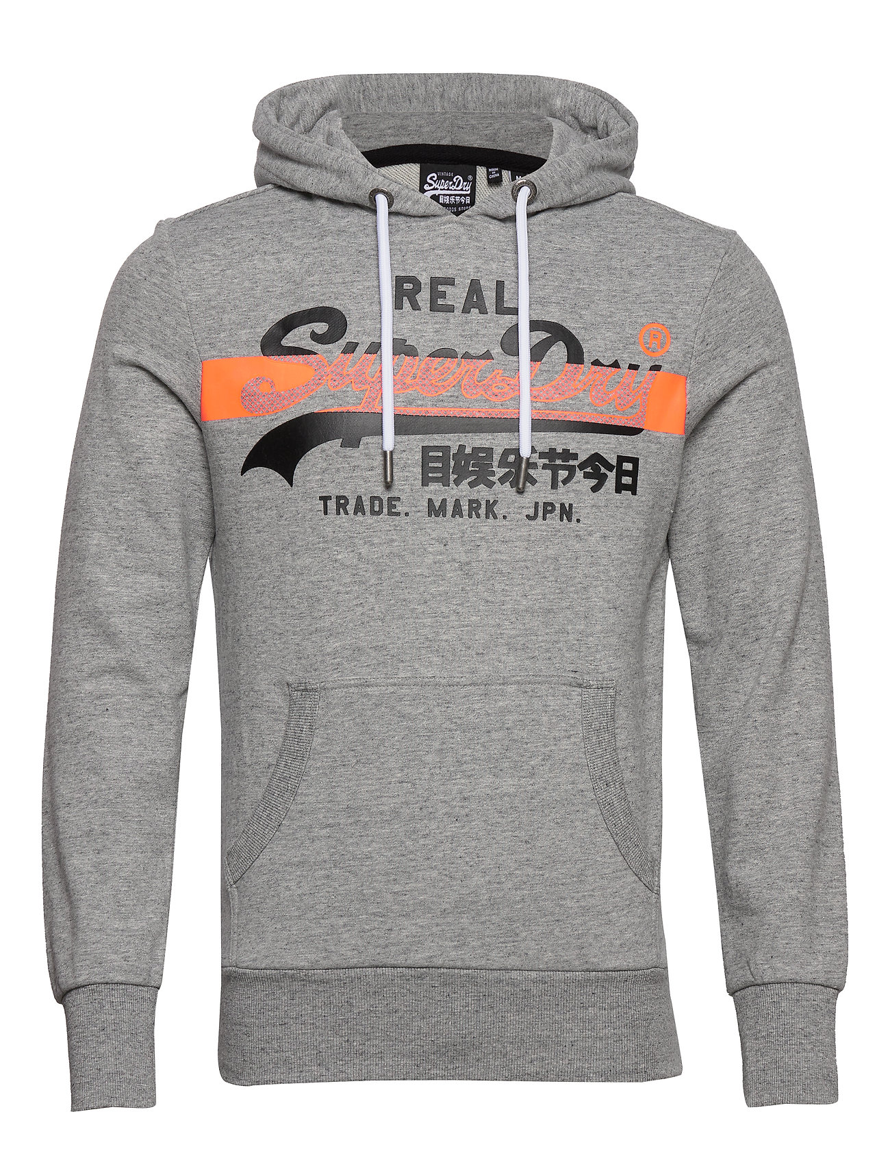 New Mens Superdry No 23 Hood Grit Grey
