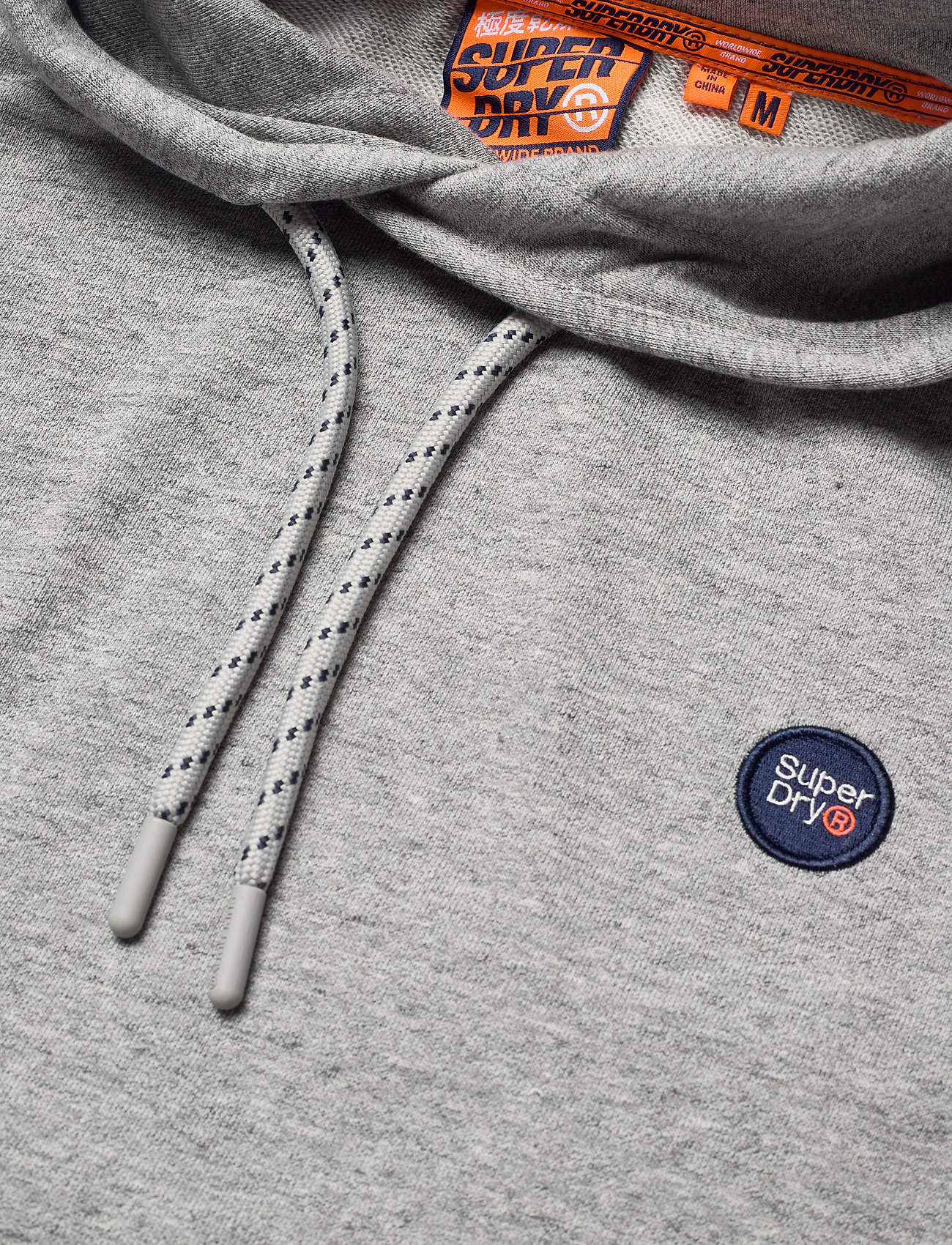 Superdry Collective Hood Ub - Sweatshirts COLLECTIVE DARK GREY GRIT - Menn Klær
