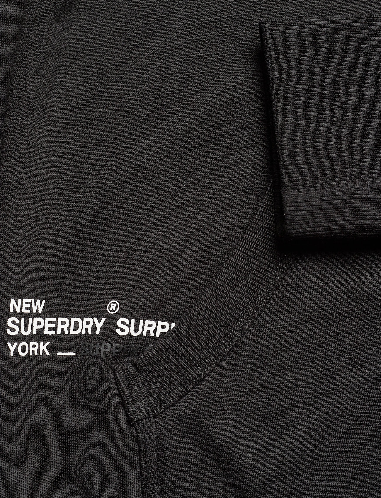 Superdry Surplus Graphic Hood - Sweatshirts BLACK - Menn Klær