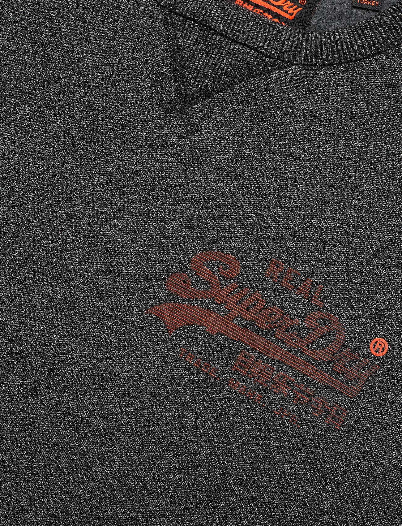 Vintage Logo Monochrome GritSuperdry Monochrome GritSuperdry Crewblack Crewblack Logo Vintage J31cTlKF