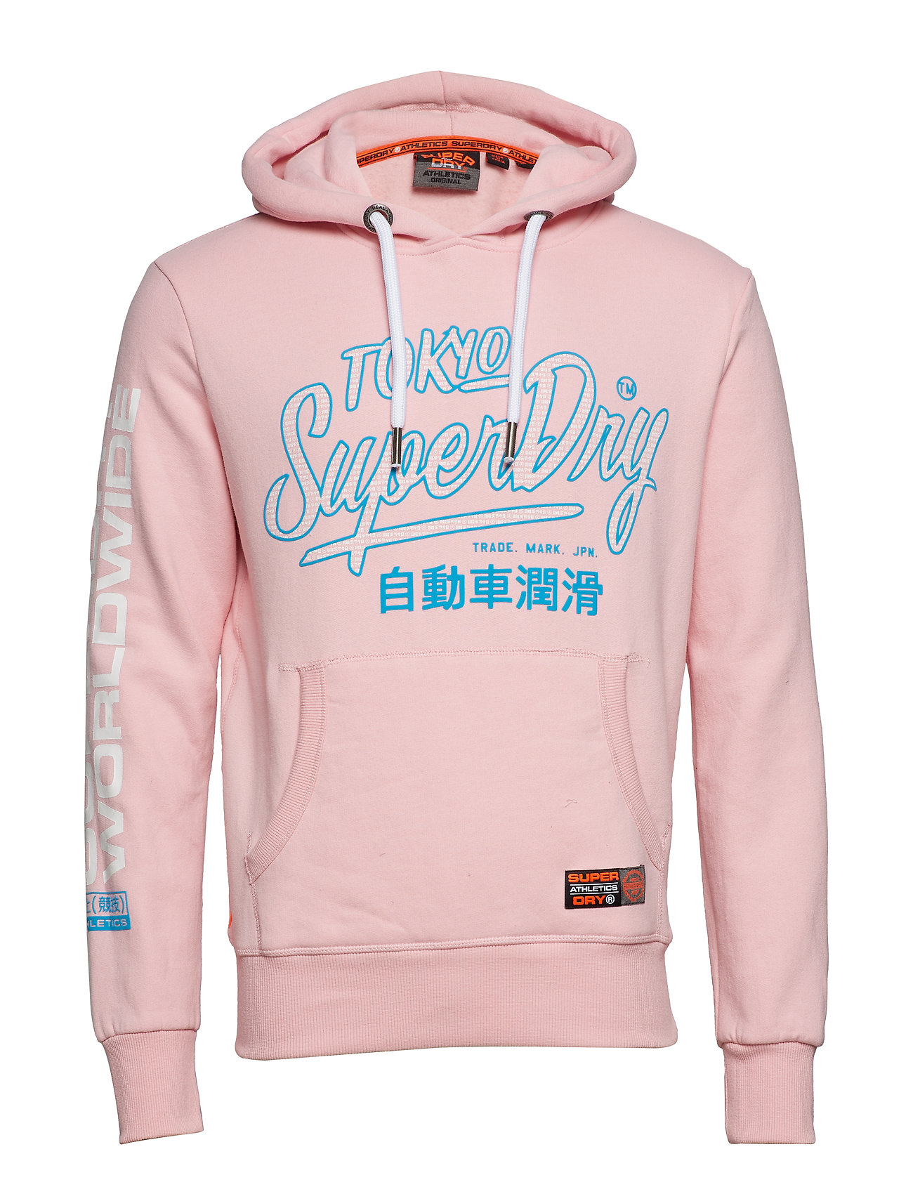 Superdry TICKET TYPE PASTEL HOOD Ögrönlar