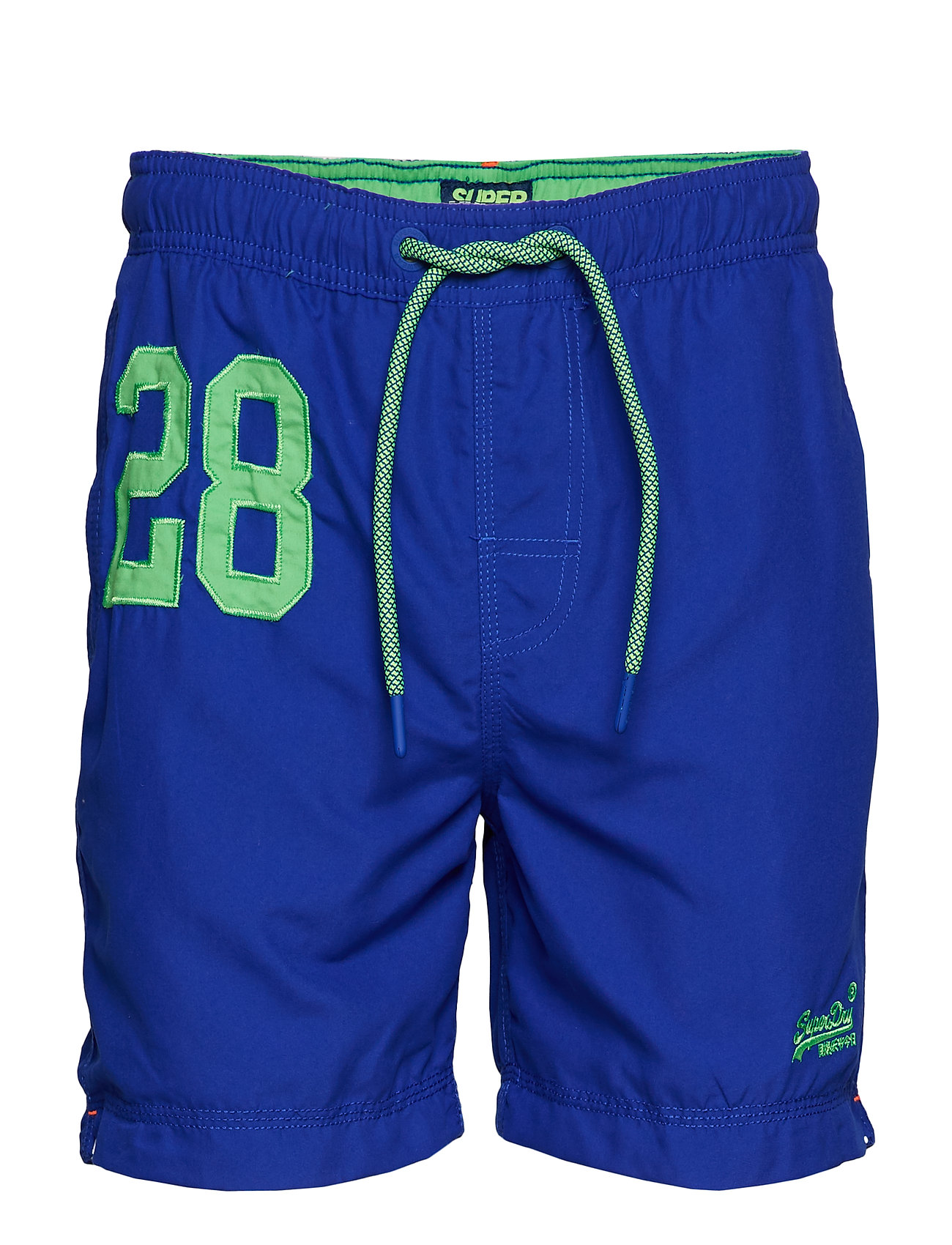 Superdry WATER POLO SWIM SHORT - RACER COBALT