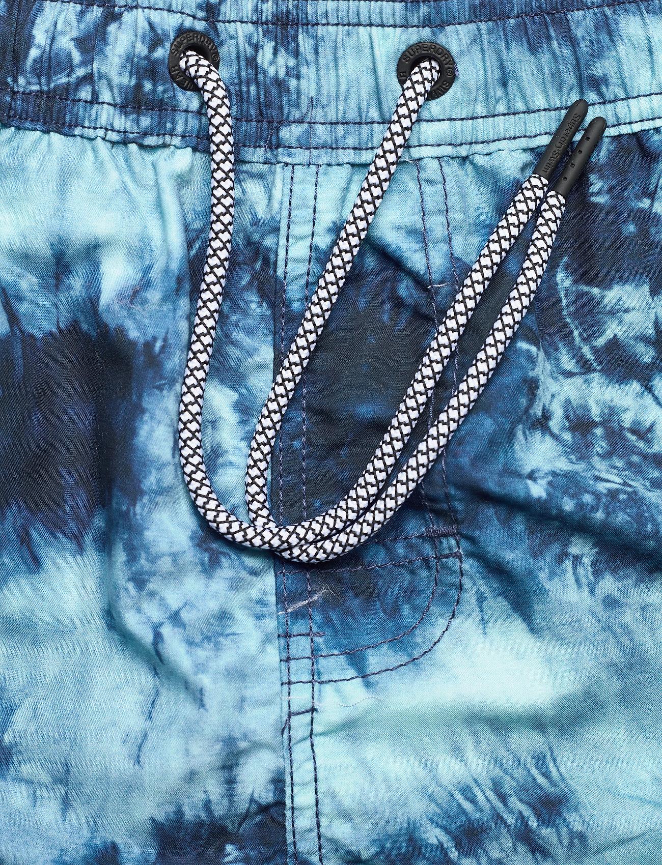 Superdry - TIE-DYE VOLLEY SWIM SHORT - shorts de bain - navy tie dye - 3