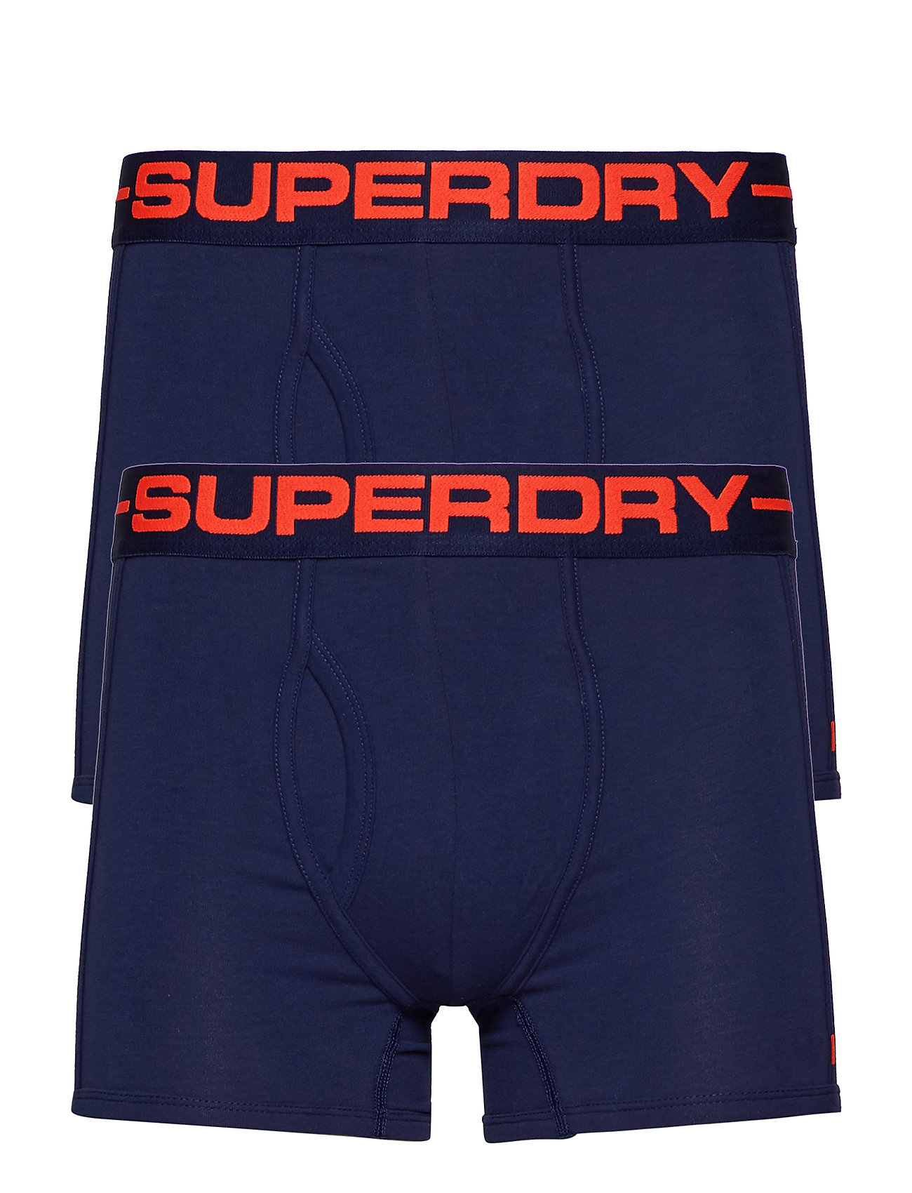 Superdry SPORT BOXER DOUBLE PACK - RICHEST NAVY/RICHEST NAVY