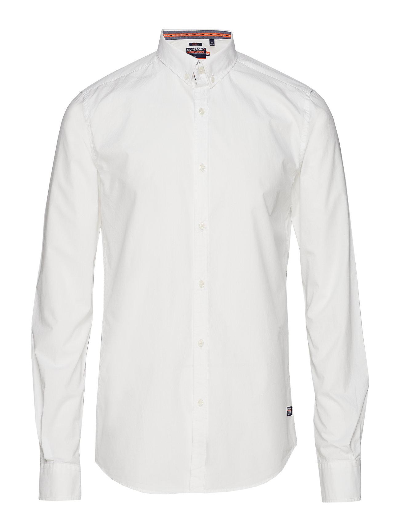 Superdry International Poplin Long Sleeve Shirt