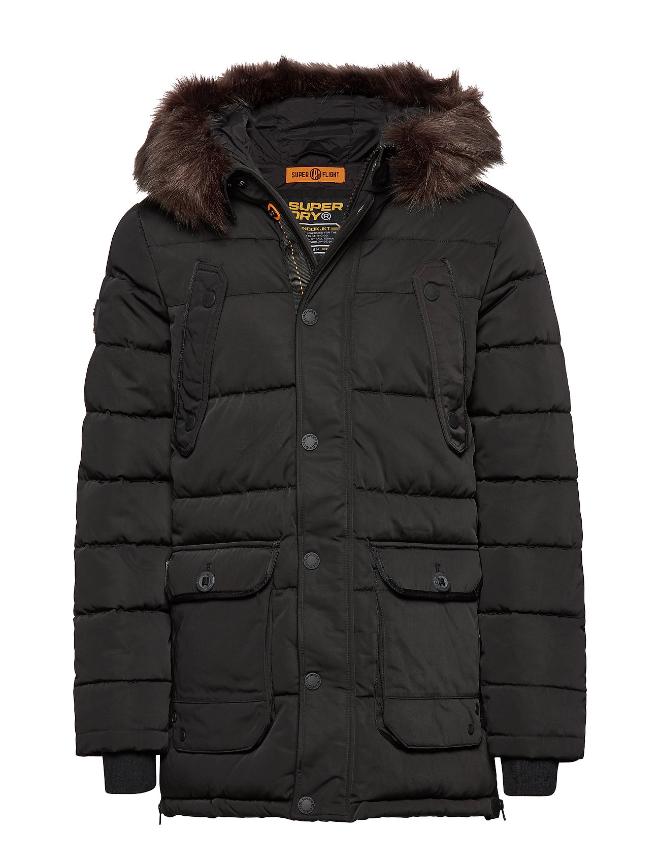 Superdry CHINOOK PARKA - JET BLACK
