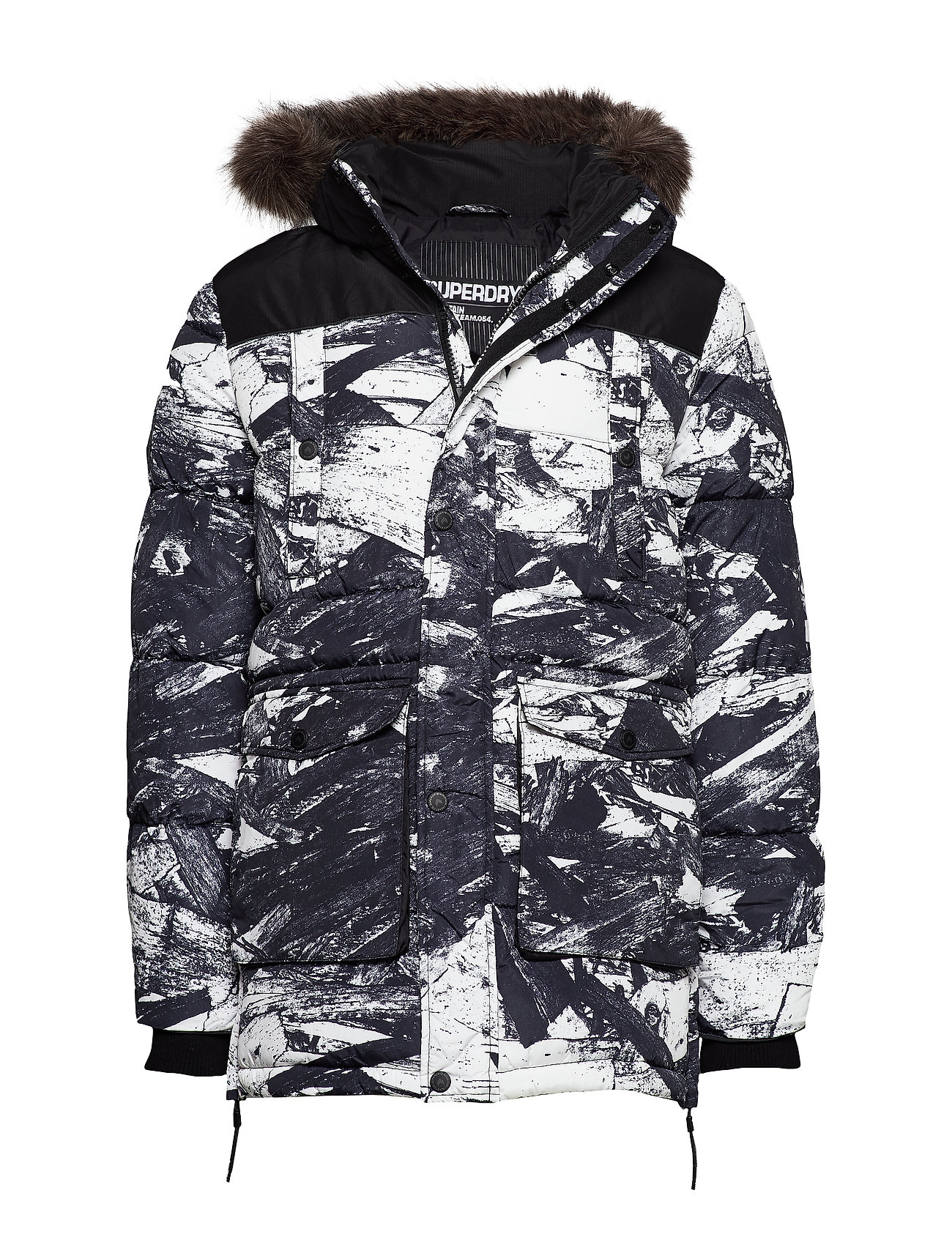 Superdry SD EXPLORER PARKA - TEXTRED WOOD