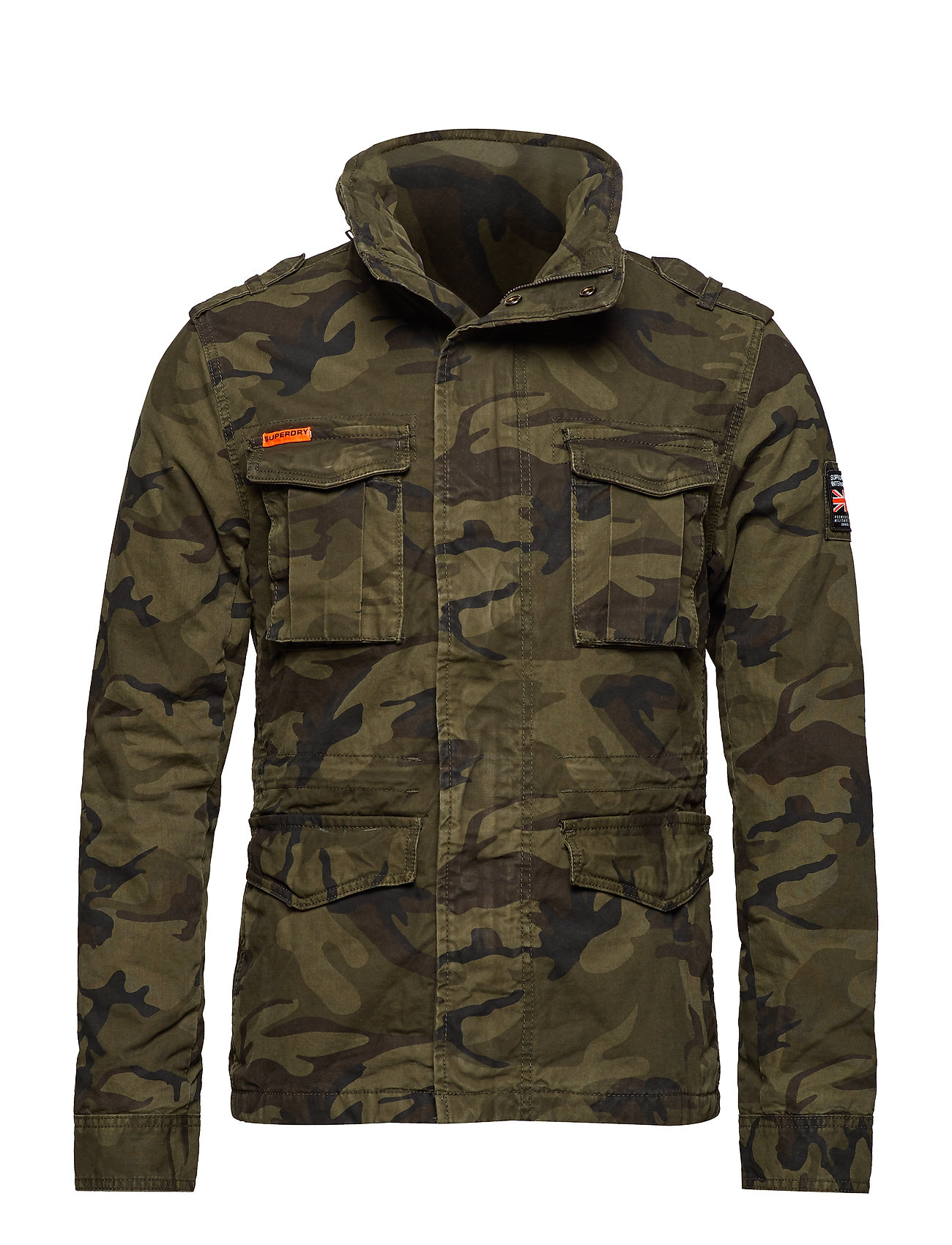 Superdry CLASSIC ROOKIE MILITARY JACKET - HURRICANE CAMO