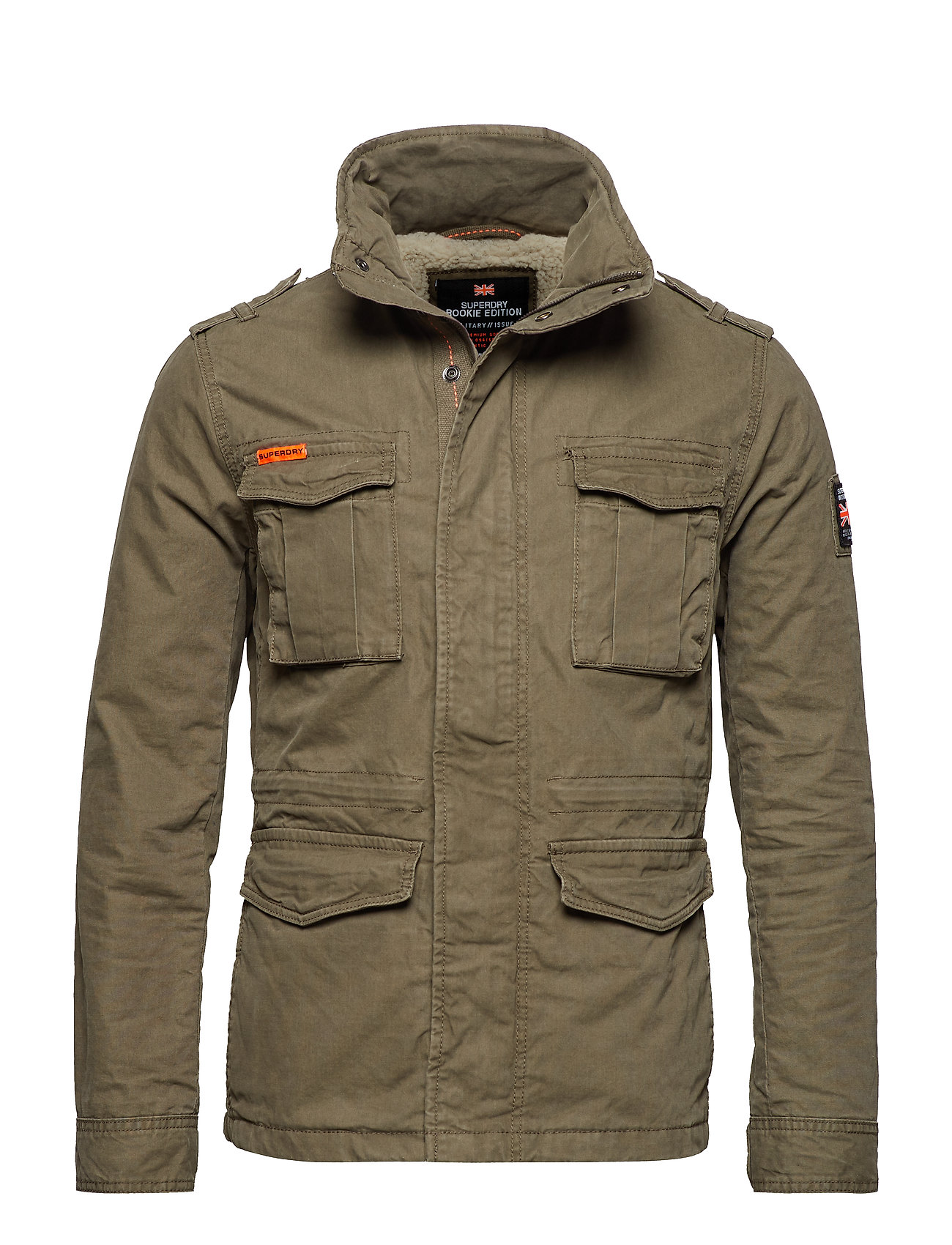 d710cb68684af Classic Rookie Military Jacket (Military Khaki) (77.97 €) - Superdry ...