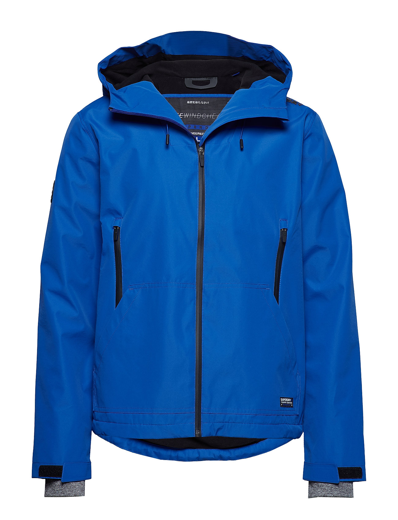 Superdry HOODED ELITE WINDCHEATER - ELECTRIC BLUE