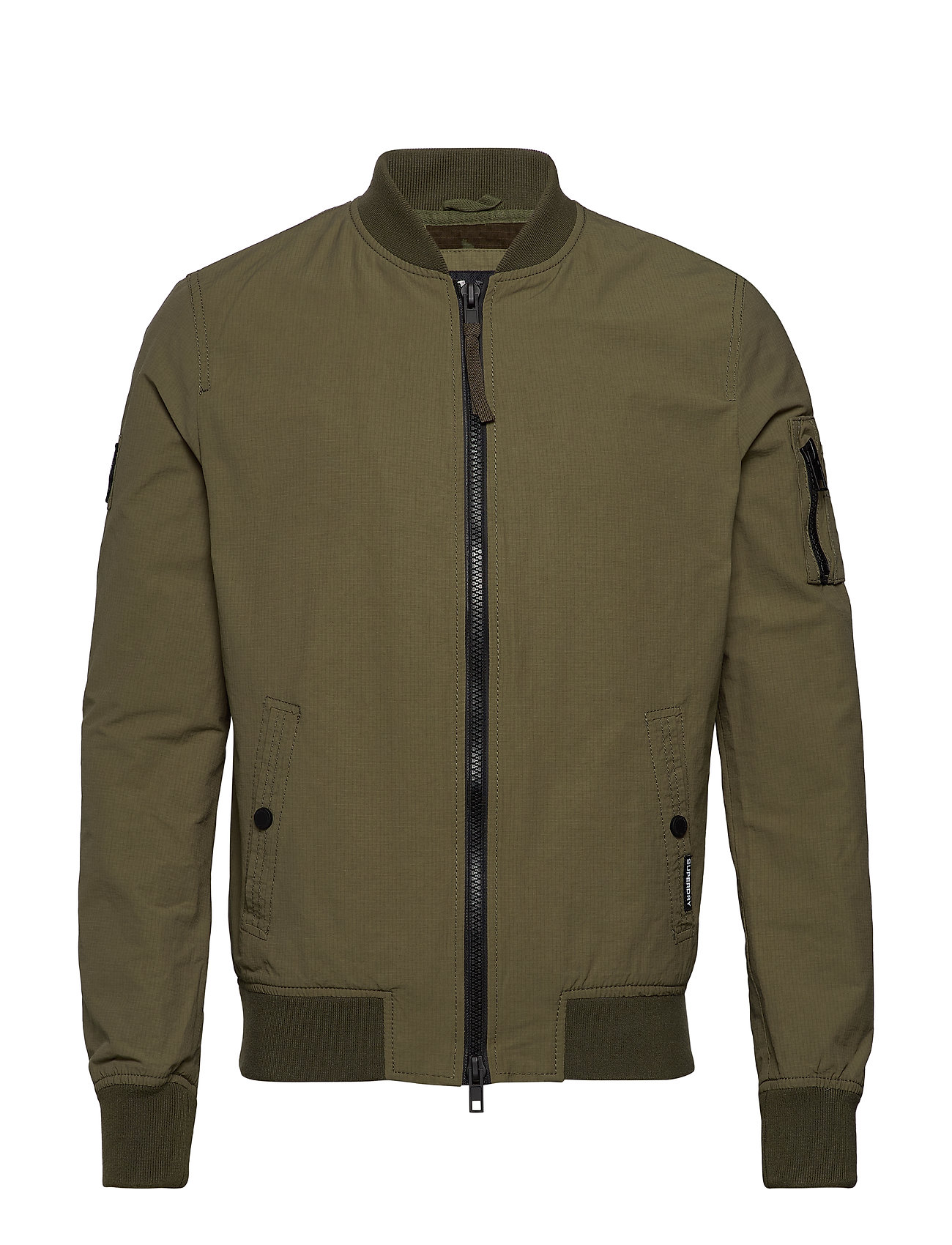 Superdry ROOKIE AIR CORPS BOMBER - SAGE KHAKI