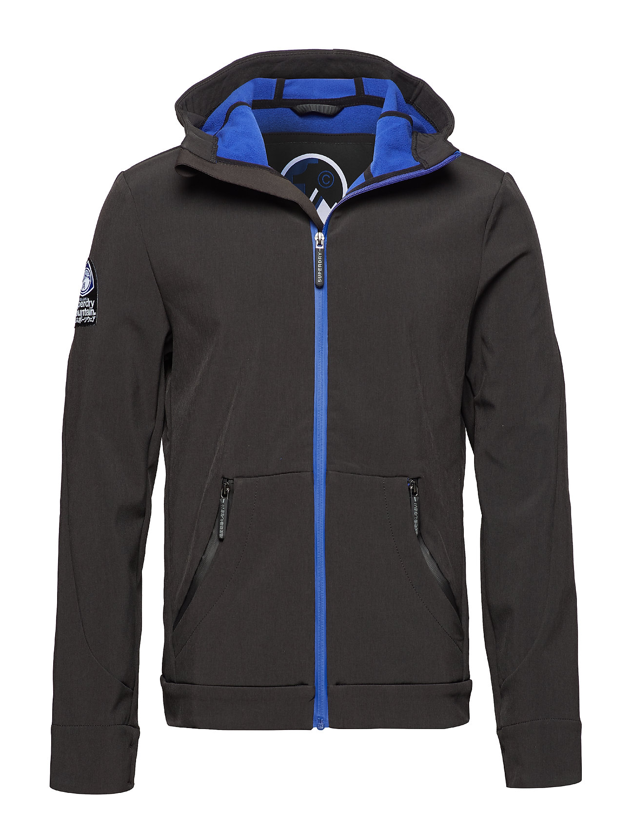 Superdry MOUNTAINEER SOFTSHELL - BLACK CATIONIC
