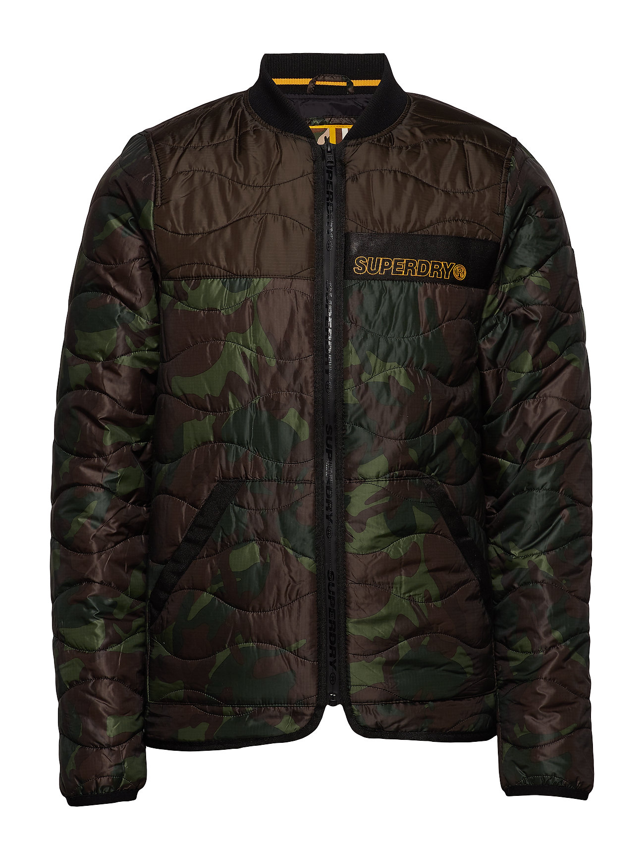 Superdry AIR CORPS PADDED LINER JACKET - MOODY CAMO/BLACK
