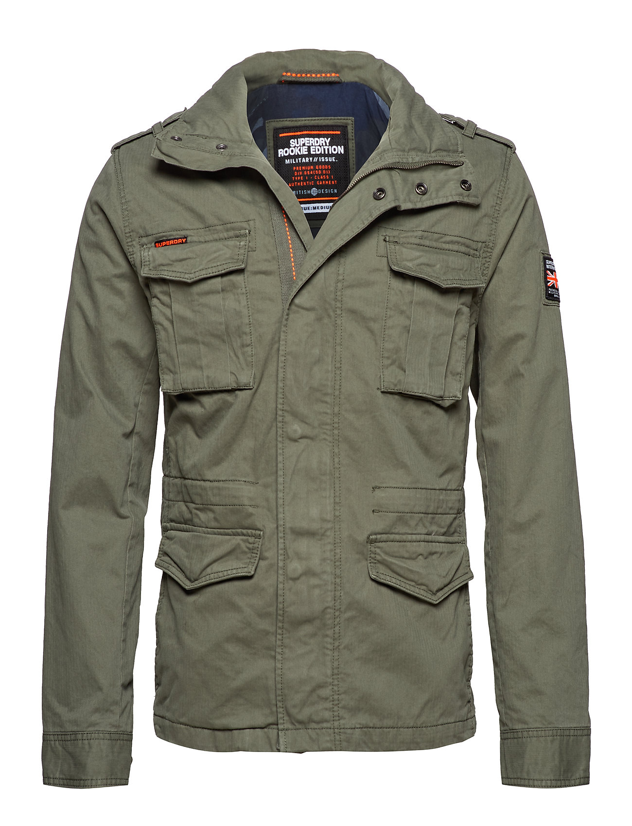 Superdry CLASSIC ROOKIE 4 PKT JKT - ARMY GREEN