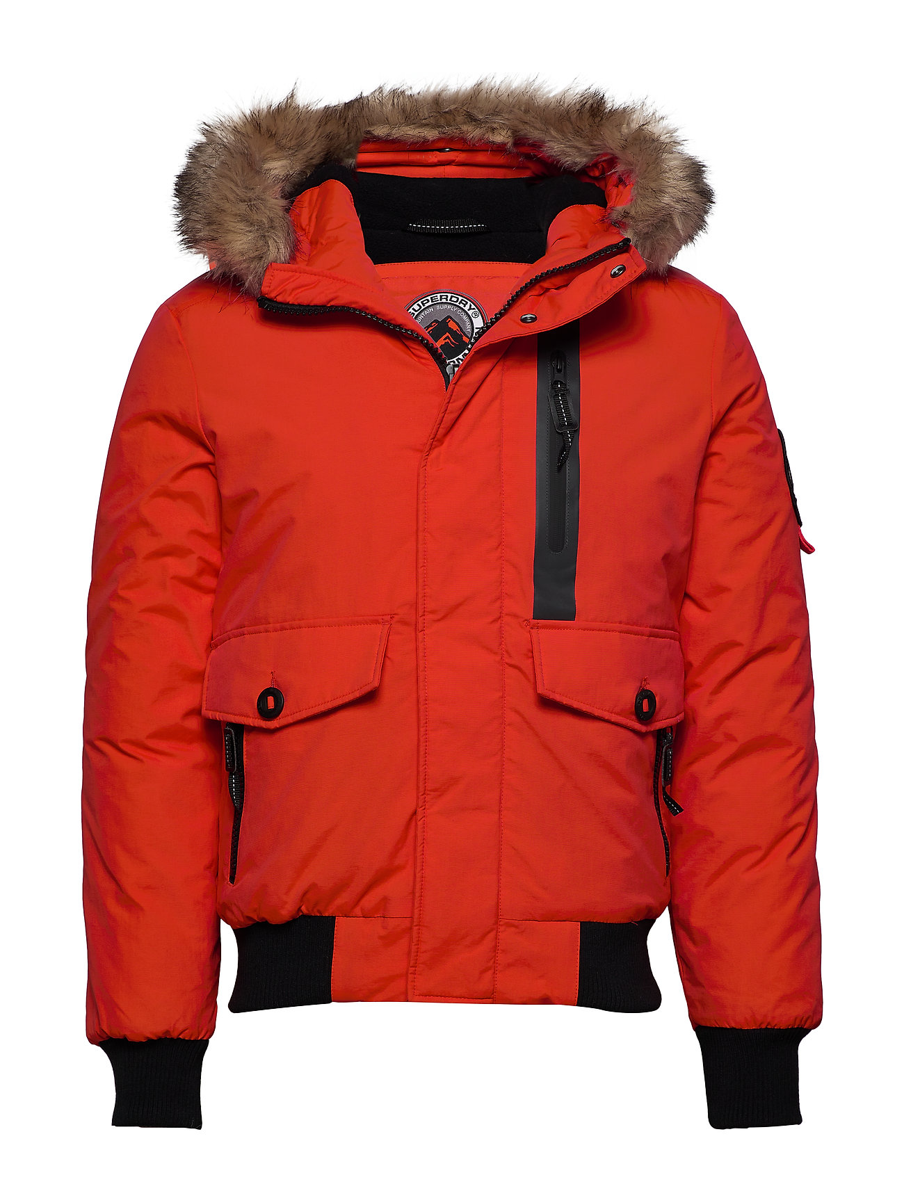 Superdry EVEREST BOMBER - BOLD ORANGE