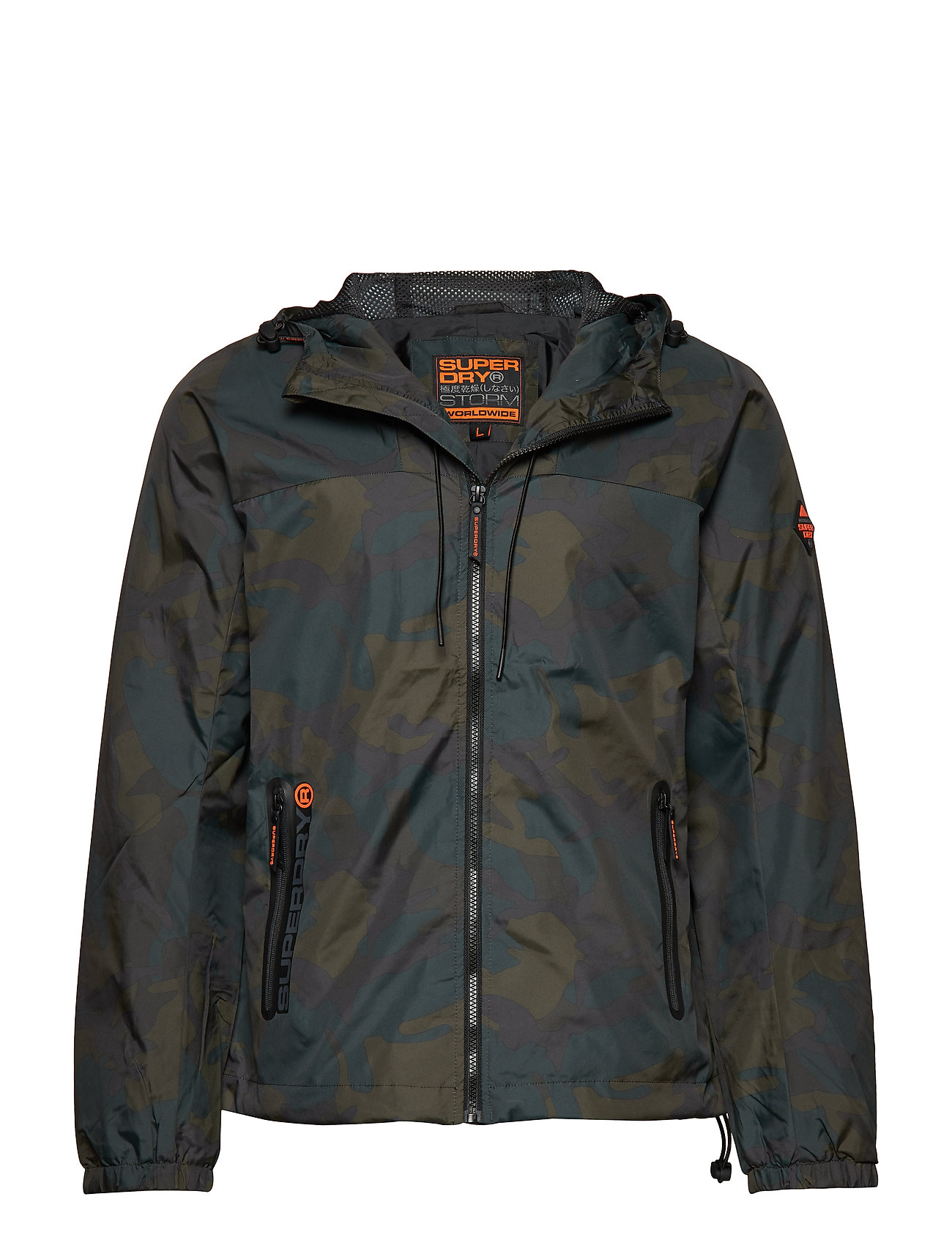 Superdry SUPERSTORM CAGOULE - MOODY CAMO
