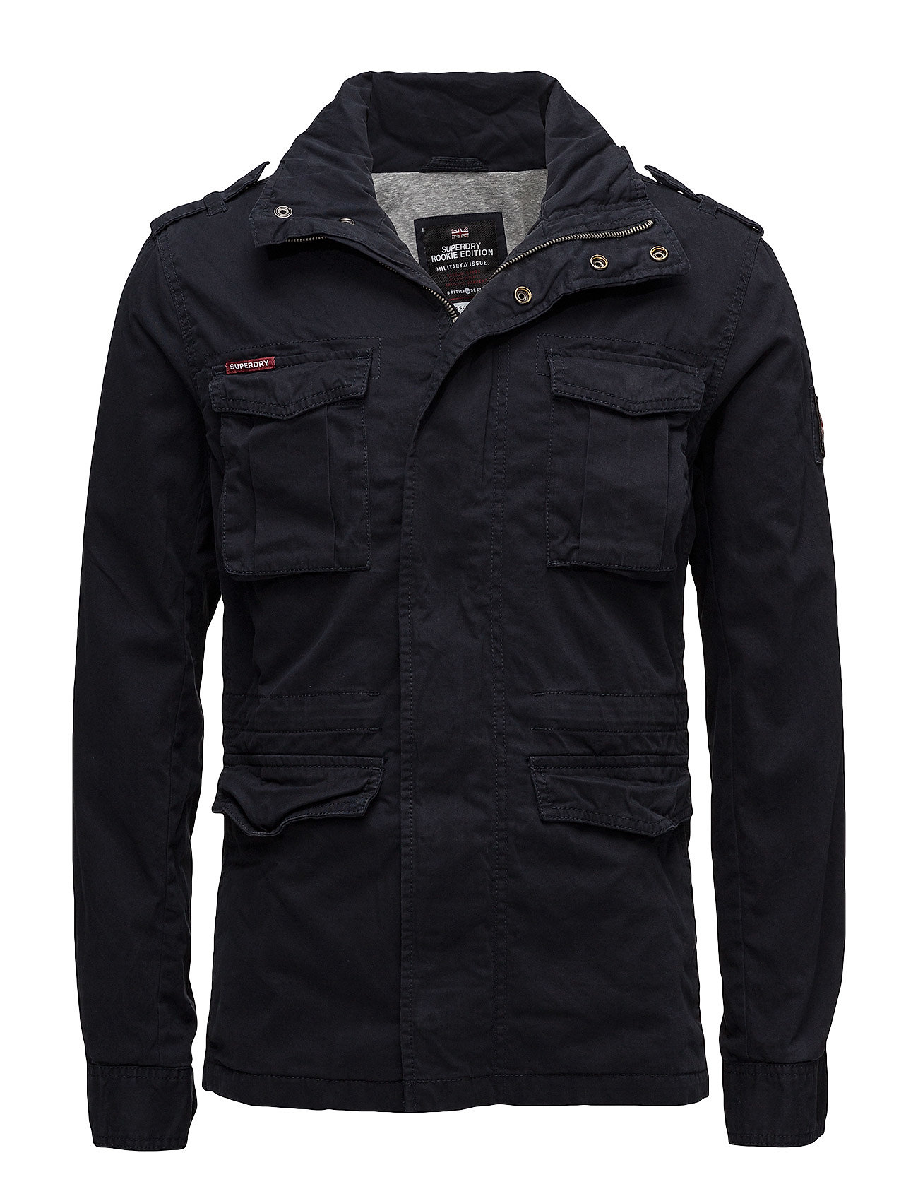 Superdry CLASSIC ROOKIE MILITARY JACKET - MIDNIGHT