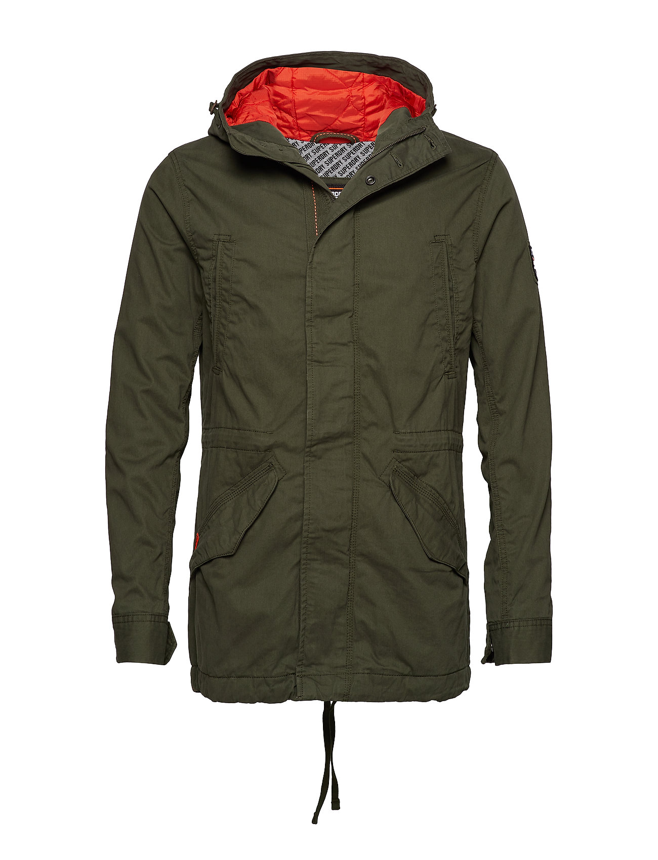 Superdry NEW ROOKIE MILITARY PARKA - FOREST NIGHT