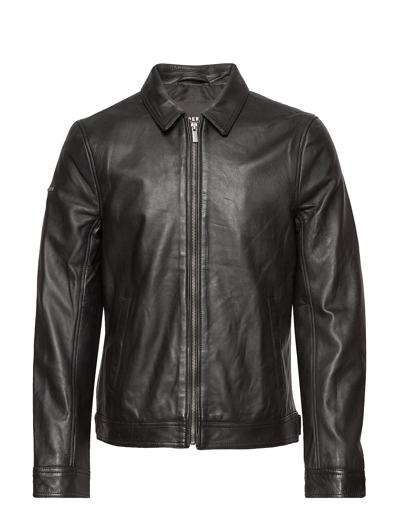 CURTIS LIGHT LEATHER JACKET
