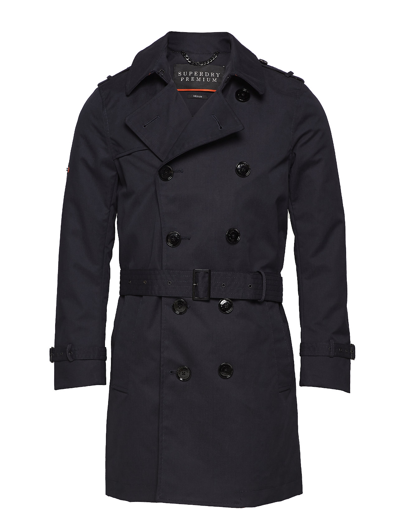 Superdry DIRECTOR TRENCH - NAVY