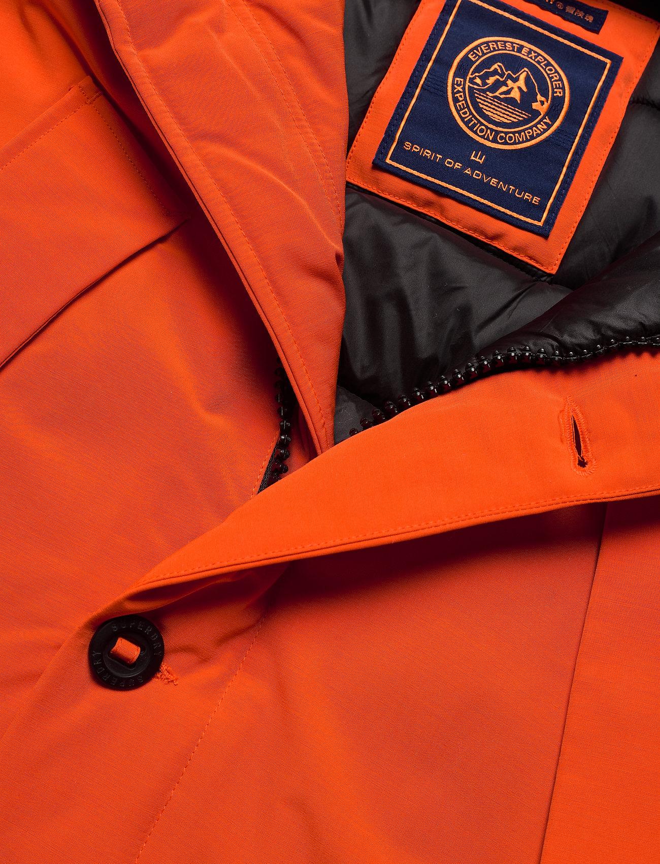 Superdry Everest Parka - Jakker og frakker ORANGE - Menn Klær