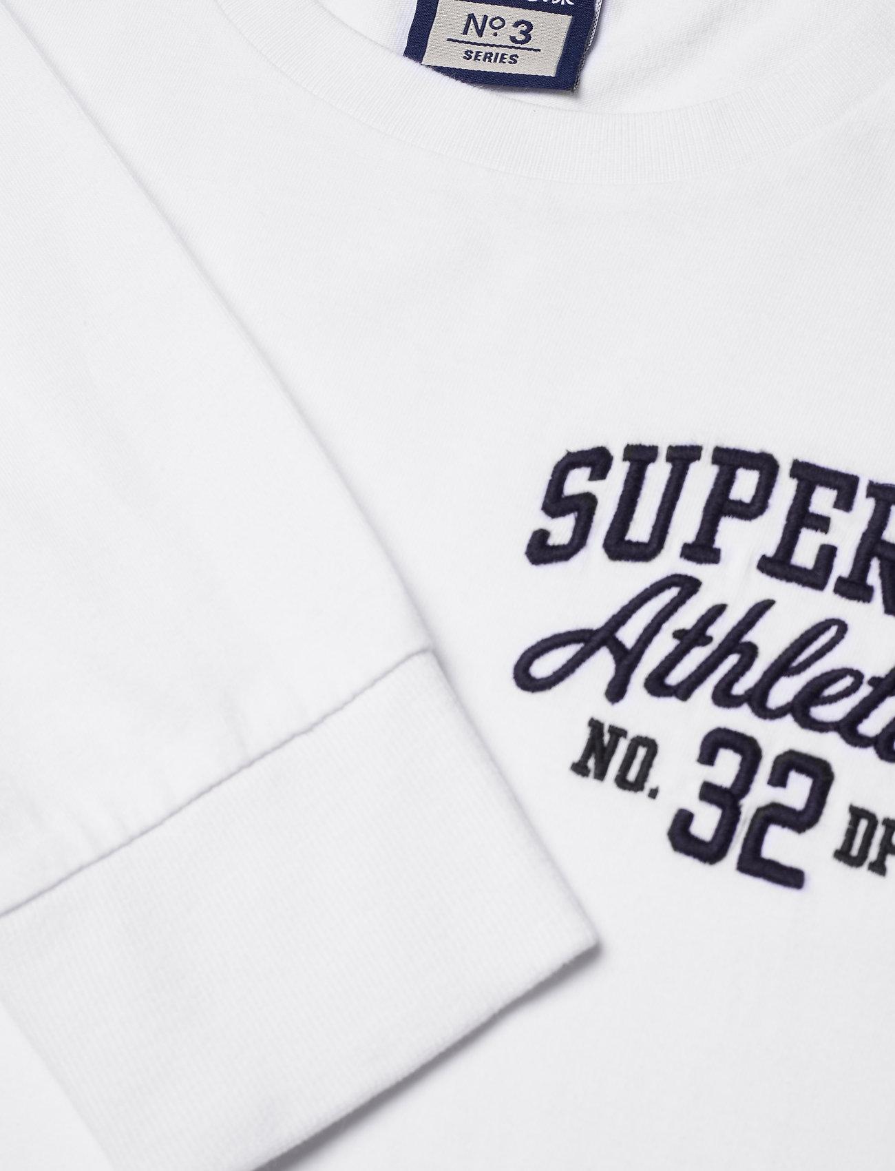 Superdry Superstate Ls Top - T-skjorter OPTIC - Menn Klær