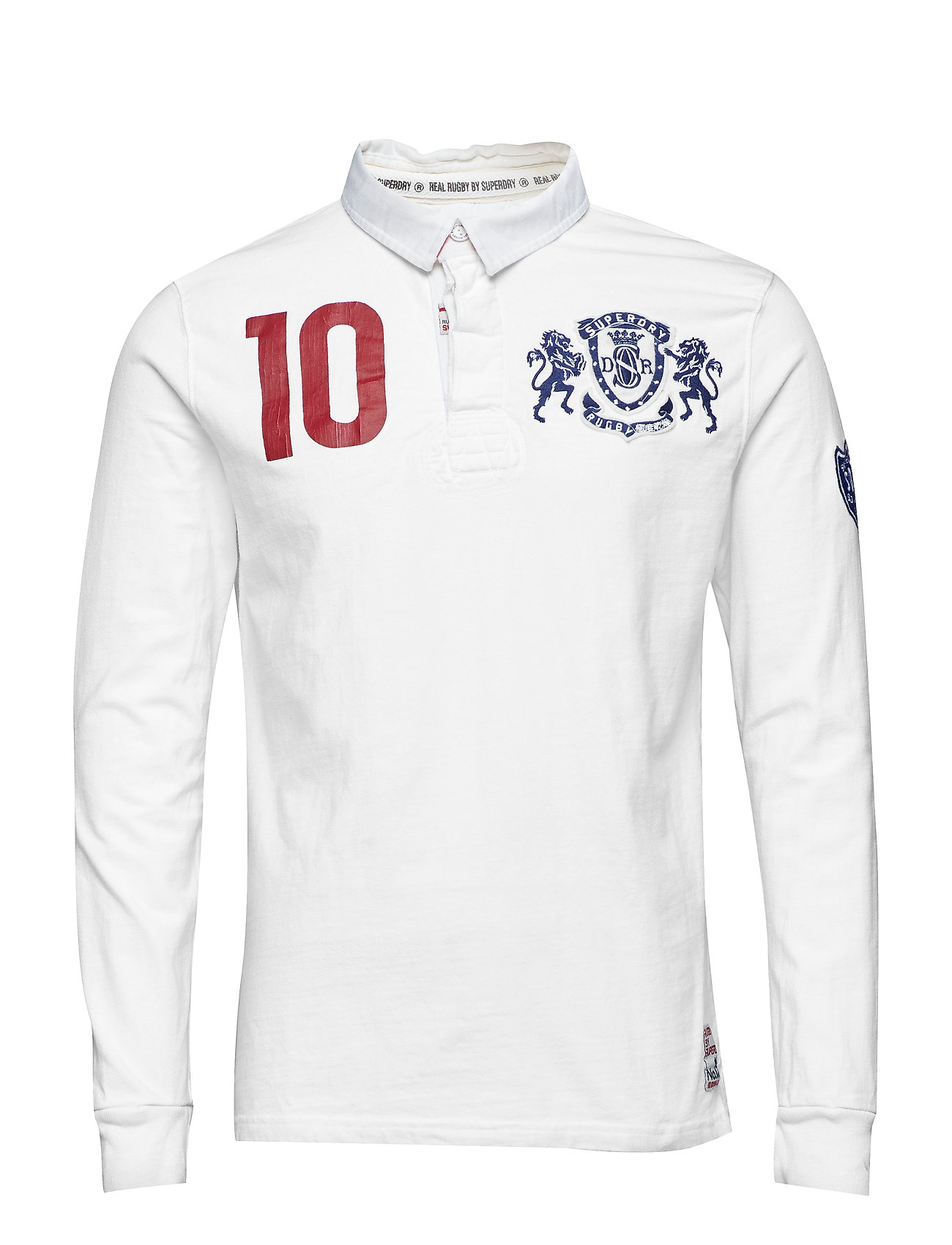 Superdry VALIANT RUGBY - OPTIC WHITE