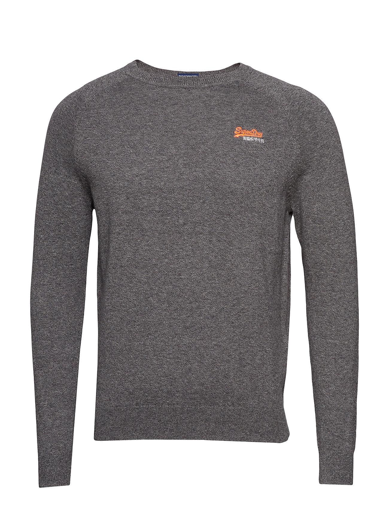 Grit Cotton graphite Crew 95 59 Label Orange 1IFq84