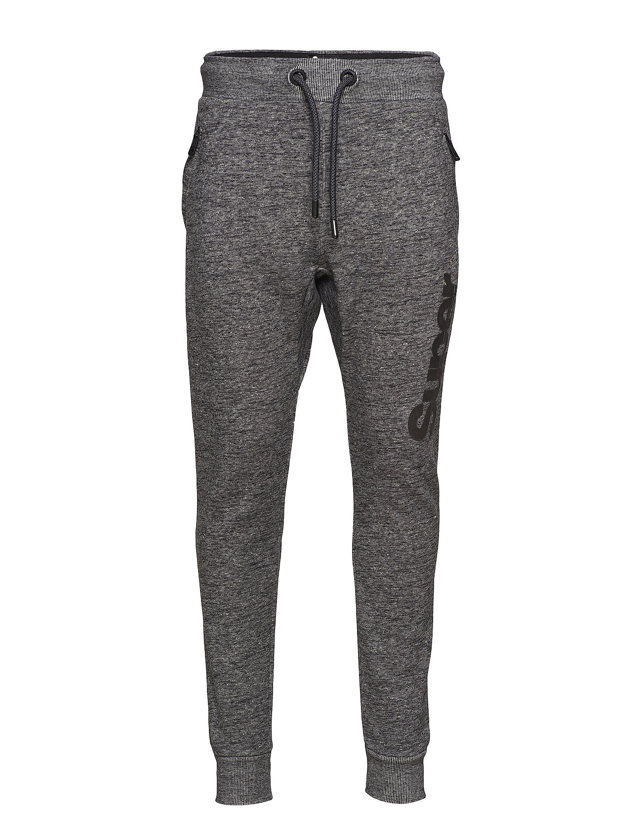 Superdry TIME TRIAL ANGLED PKT JOGGER - BLACK FIELD GRIT
