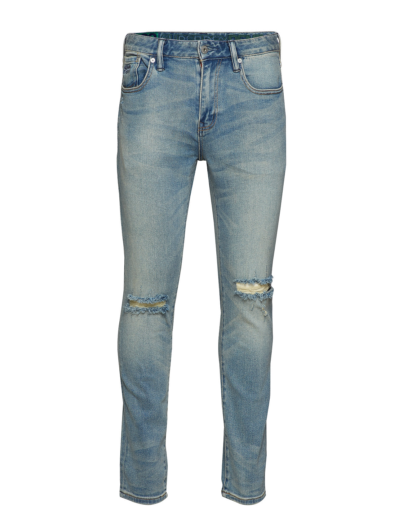 Superdry TYLER SLIM COMFORT - HEADFORD BLUE RIP