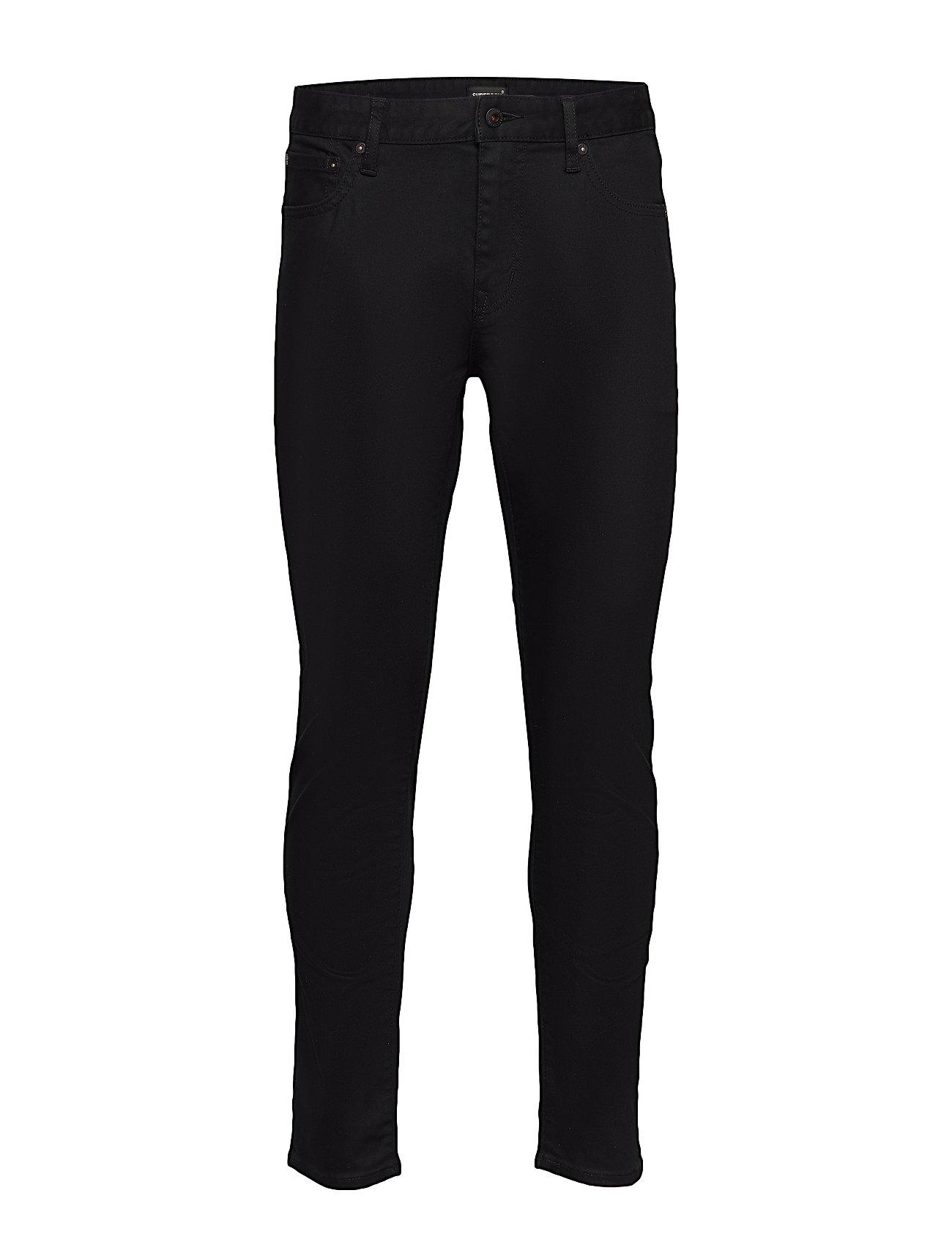 03 Tyler Slim Slim Jeans Sort Superdry
