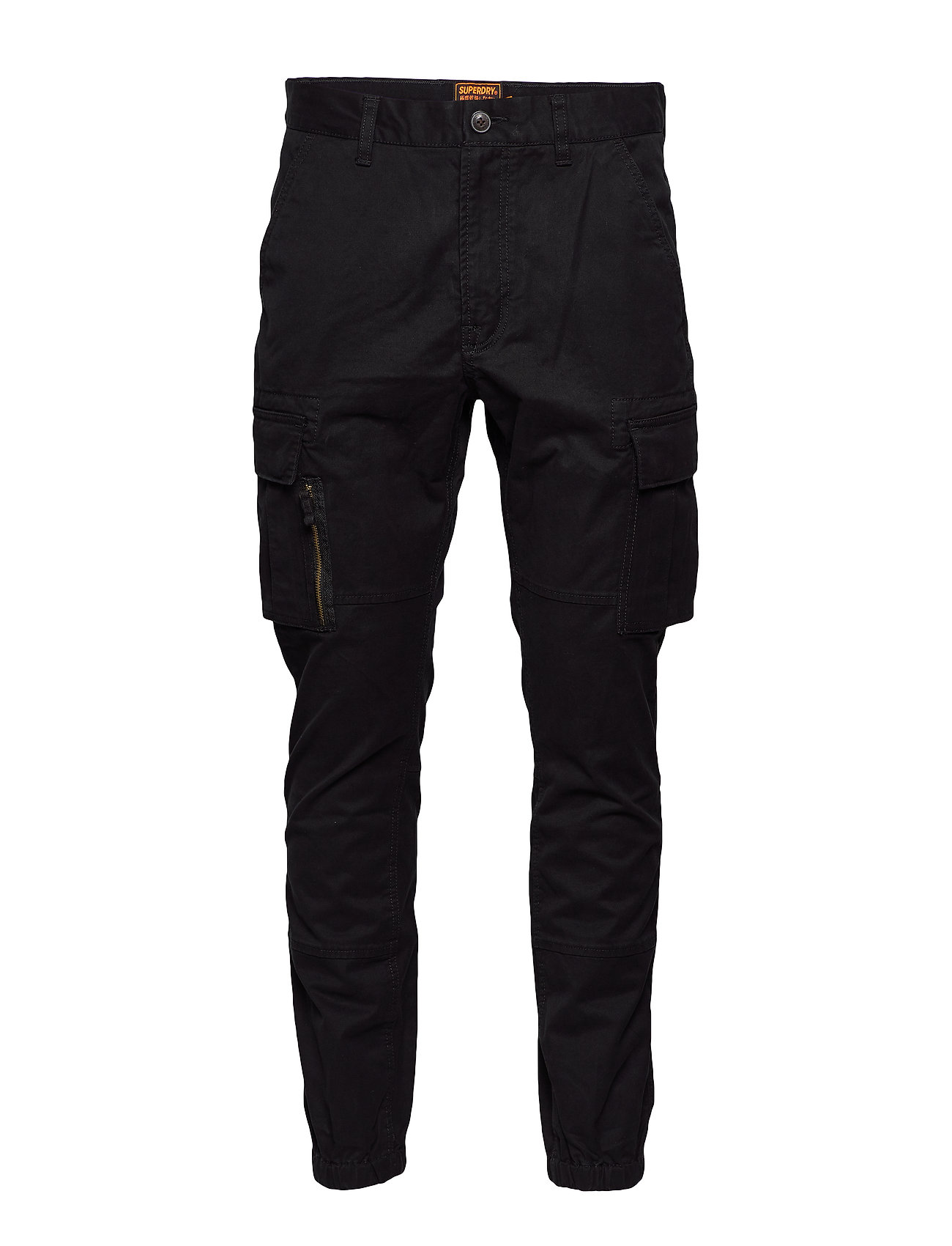 Image of Recruit Flight Grip Cargo Trousers Cargo Pants Sort Superdry (3350776885)