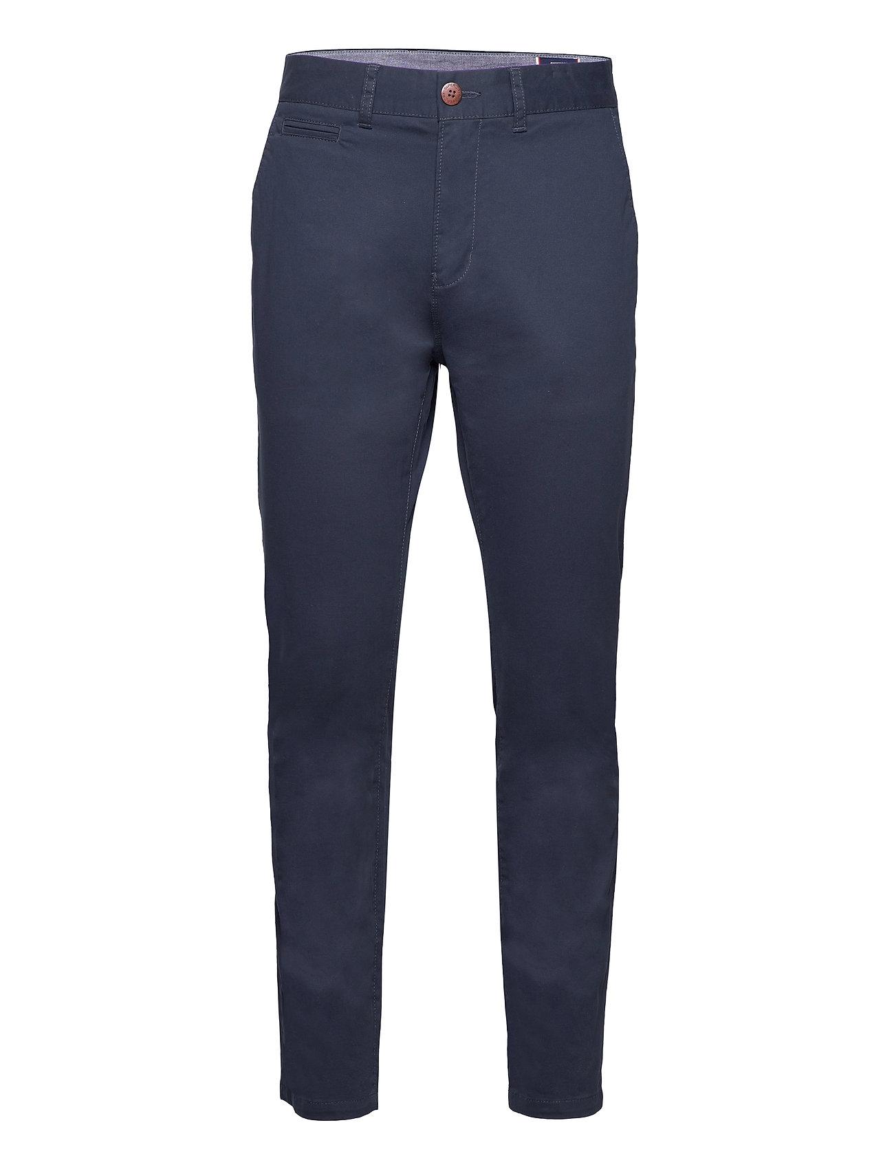Core Slim Chino Chinos Bukser Blå Superdry