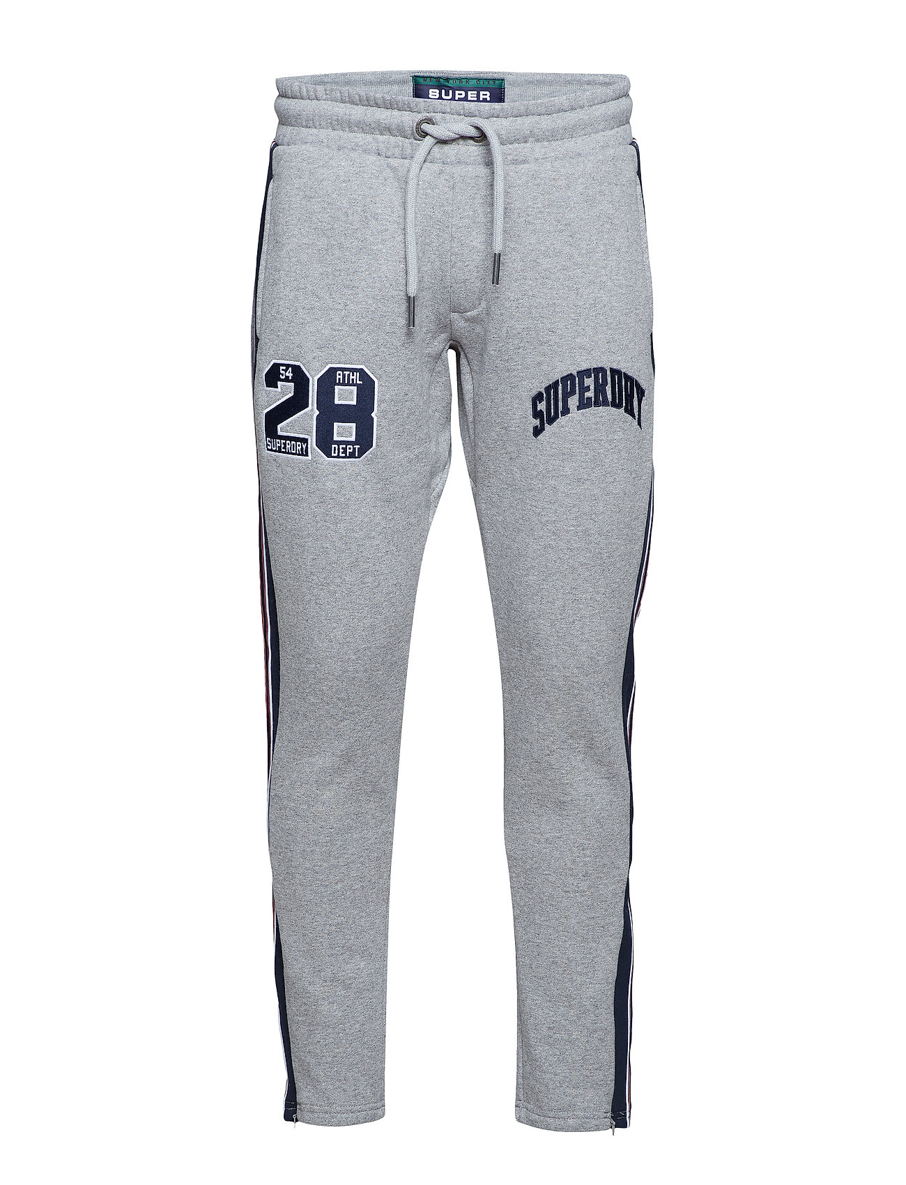 GritSuperdry Applique International Taped Joggervarsity Silver oBxerdCW