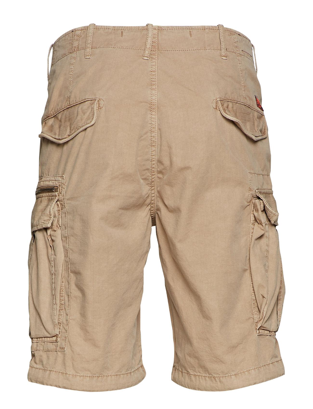 Parachute Cargo Short Shorts Casual Beige Superdry
