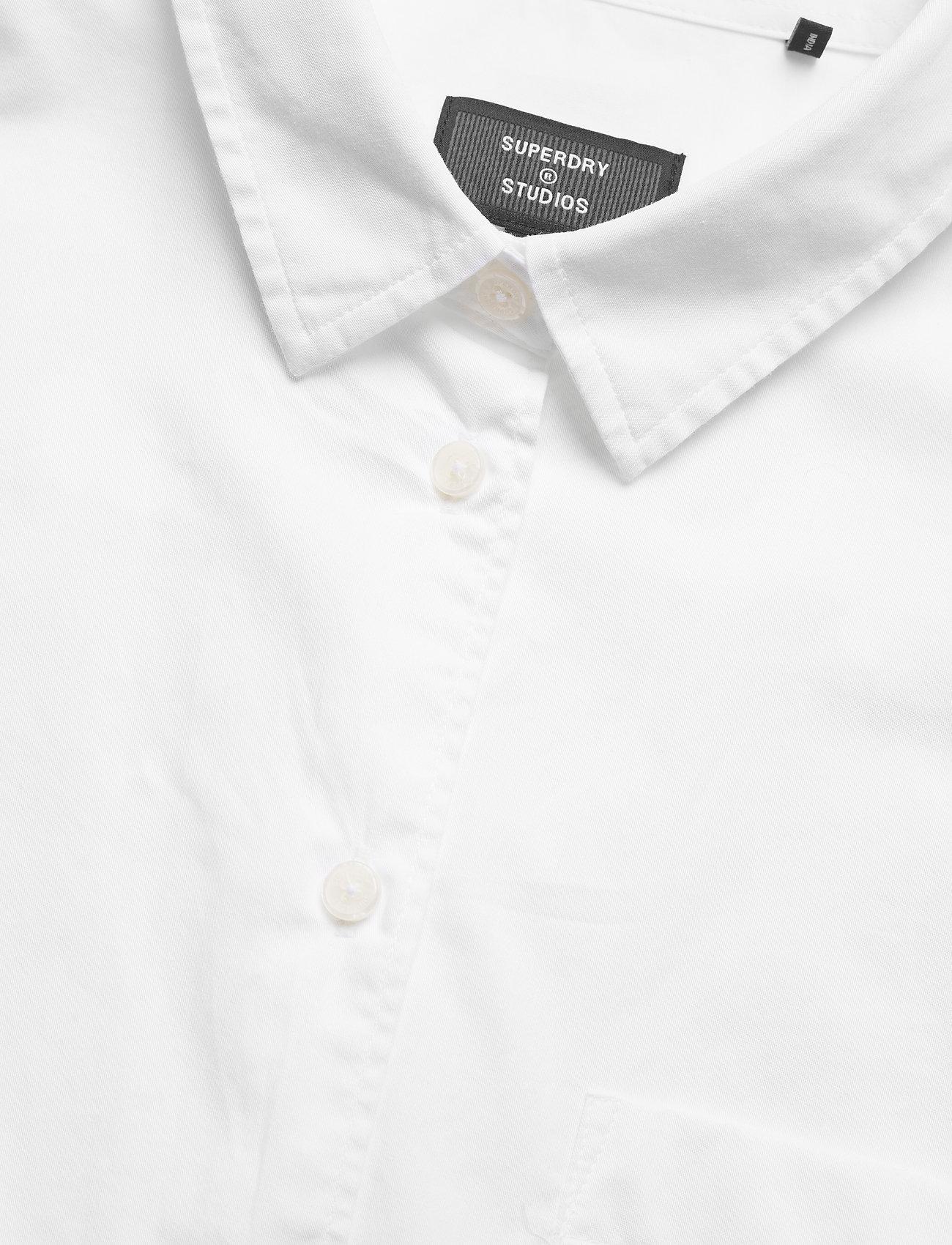 Superdry - MODERN TAILOR LS SHIRT - langærmede skjorter - optic - 2